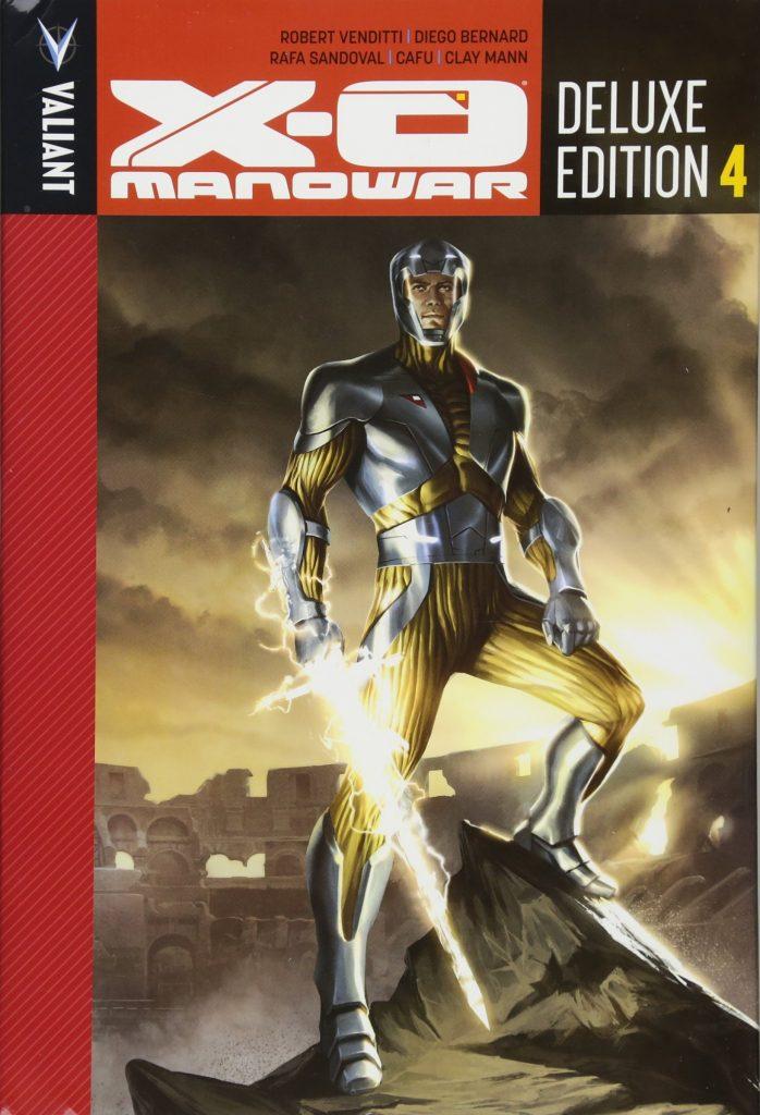 X-O Manowar: Deluxe Edition 4