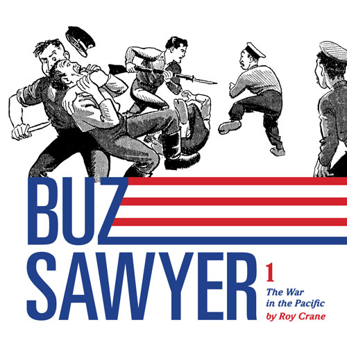 Buz Sawyer 1: The War in the Pacific
