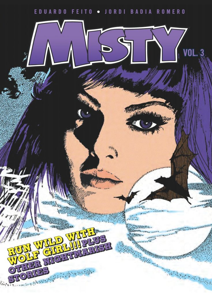 Misty Vol. 3: Wolf Girl and Other Stories