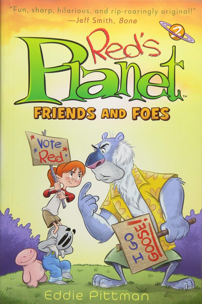 Red's Planet: Friends and Foes