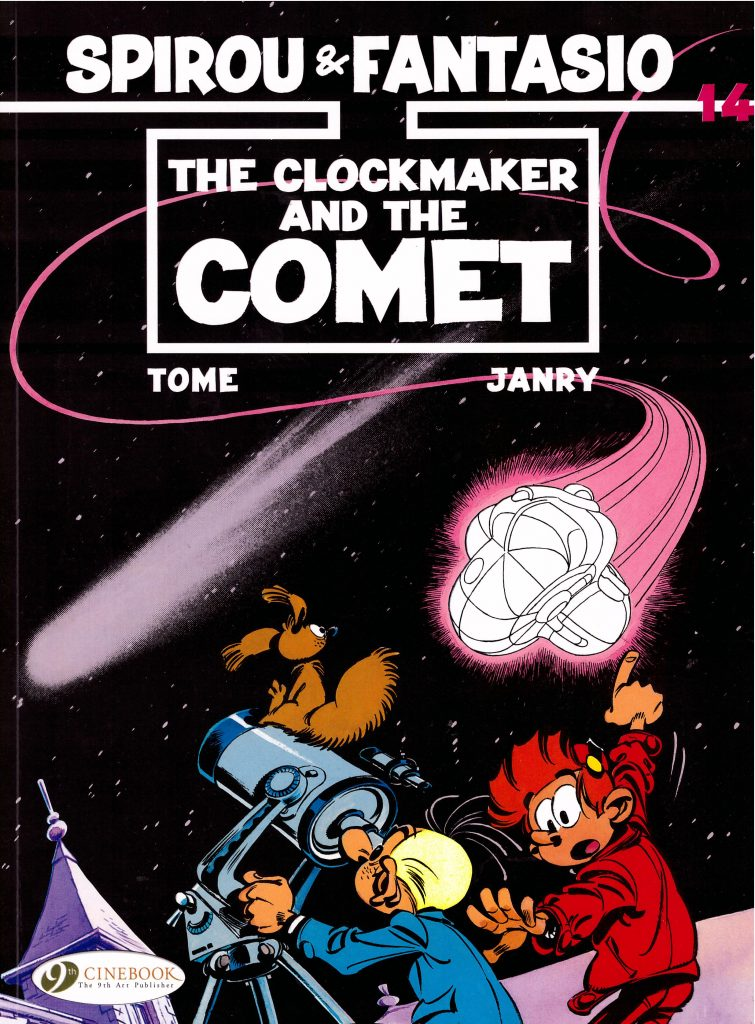 Spirou and Fantasio: The Clockmaker and the Comet