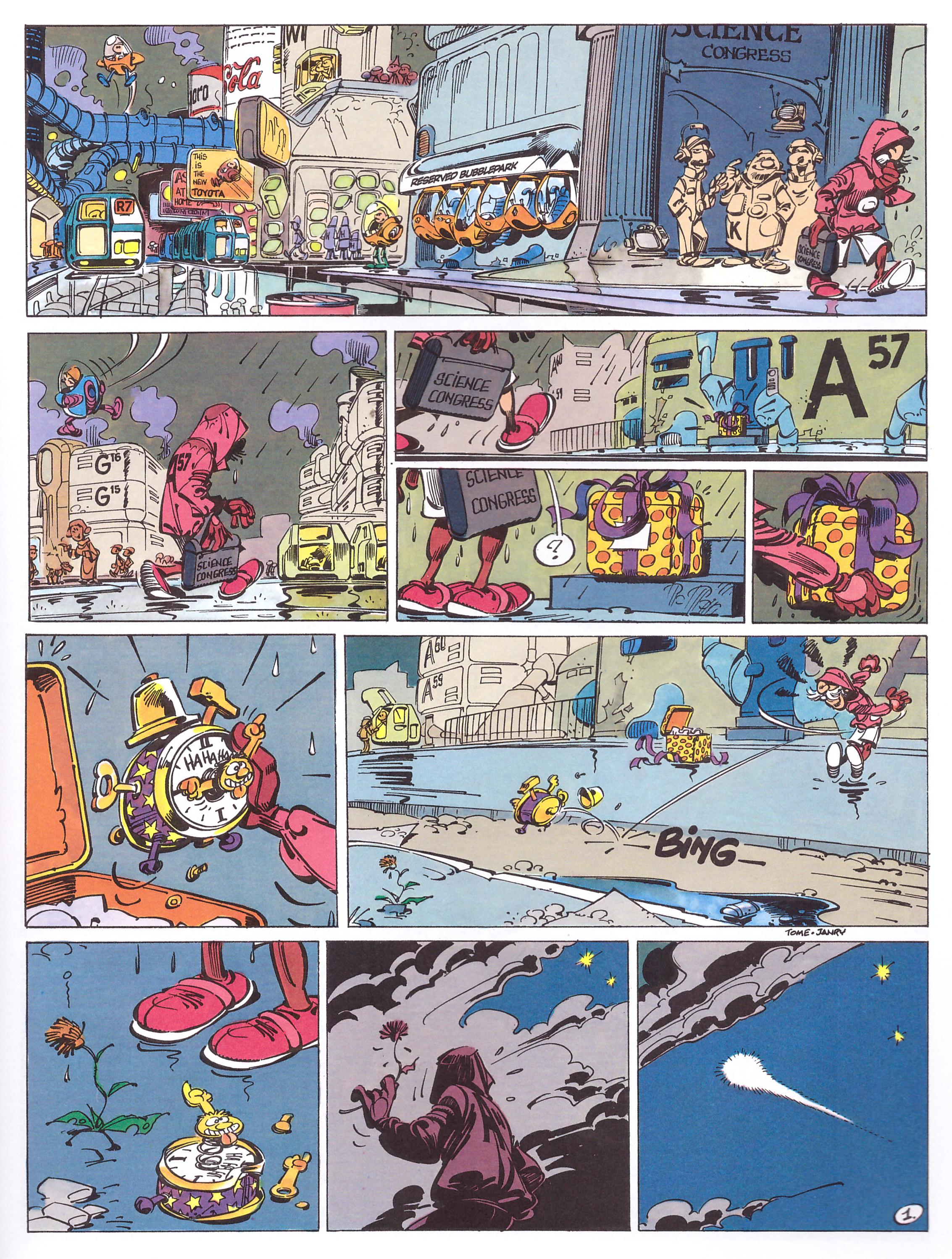 Spirou and Fantasio The Clockmaker and the Comet review