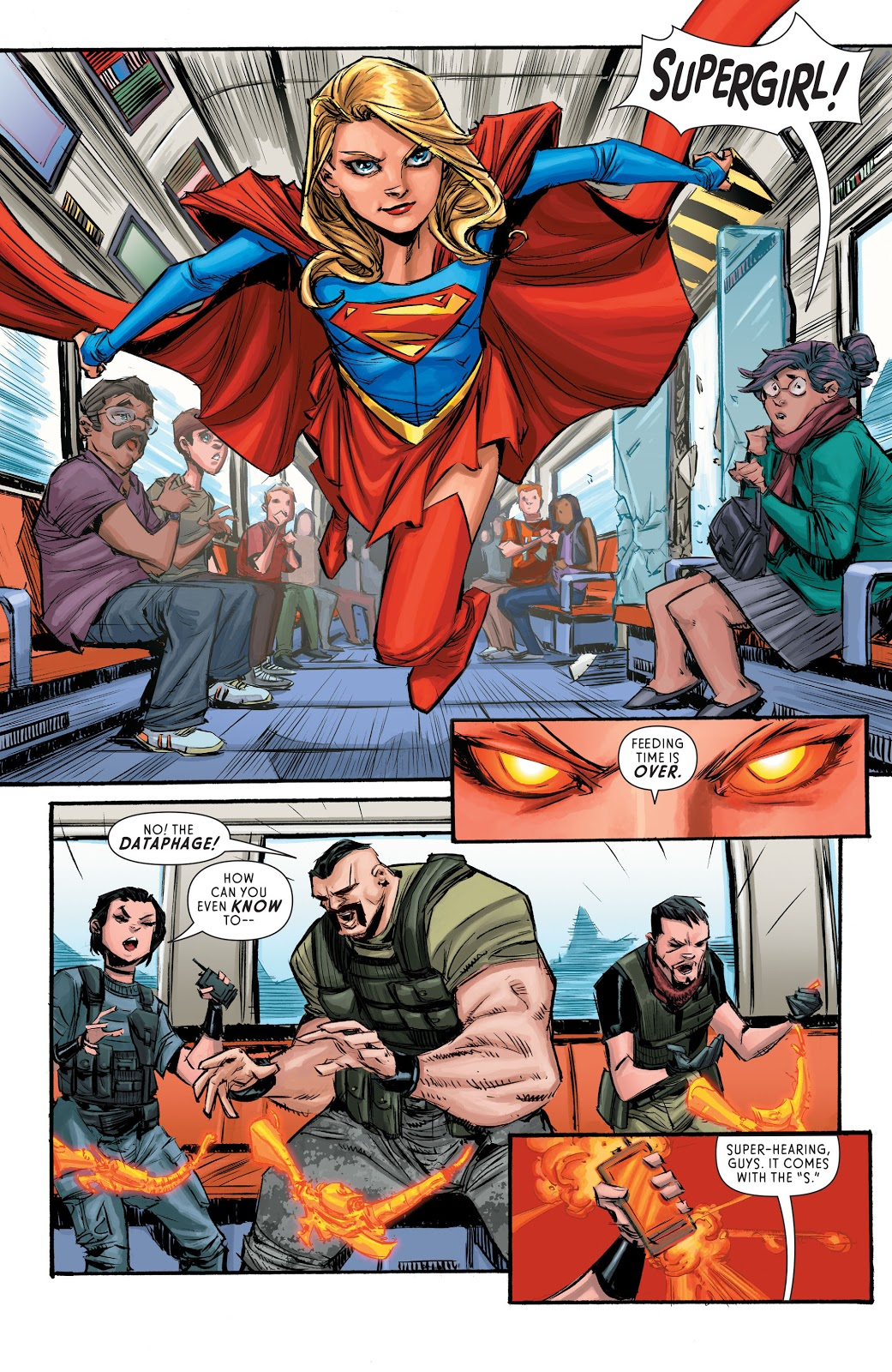 Supergirl Reign of the Cyborg Supermen review