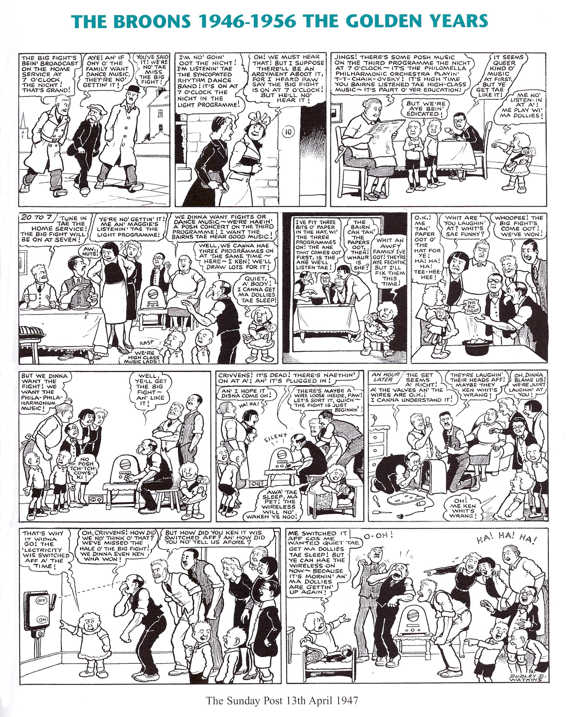 The Broons and Oor Wullie the Golden Years review