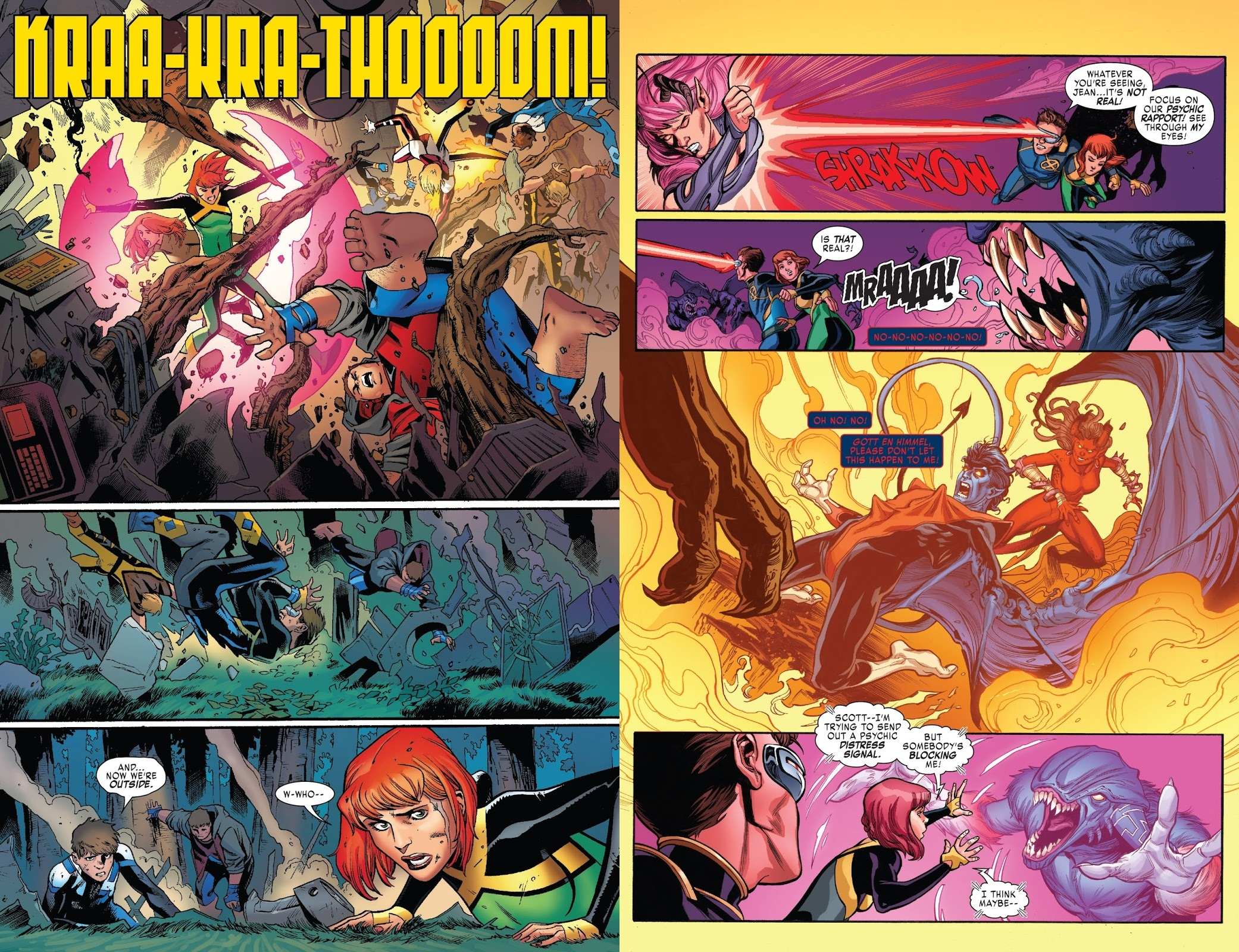 X-Men Blue Toil and Trouble review