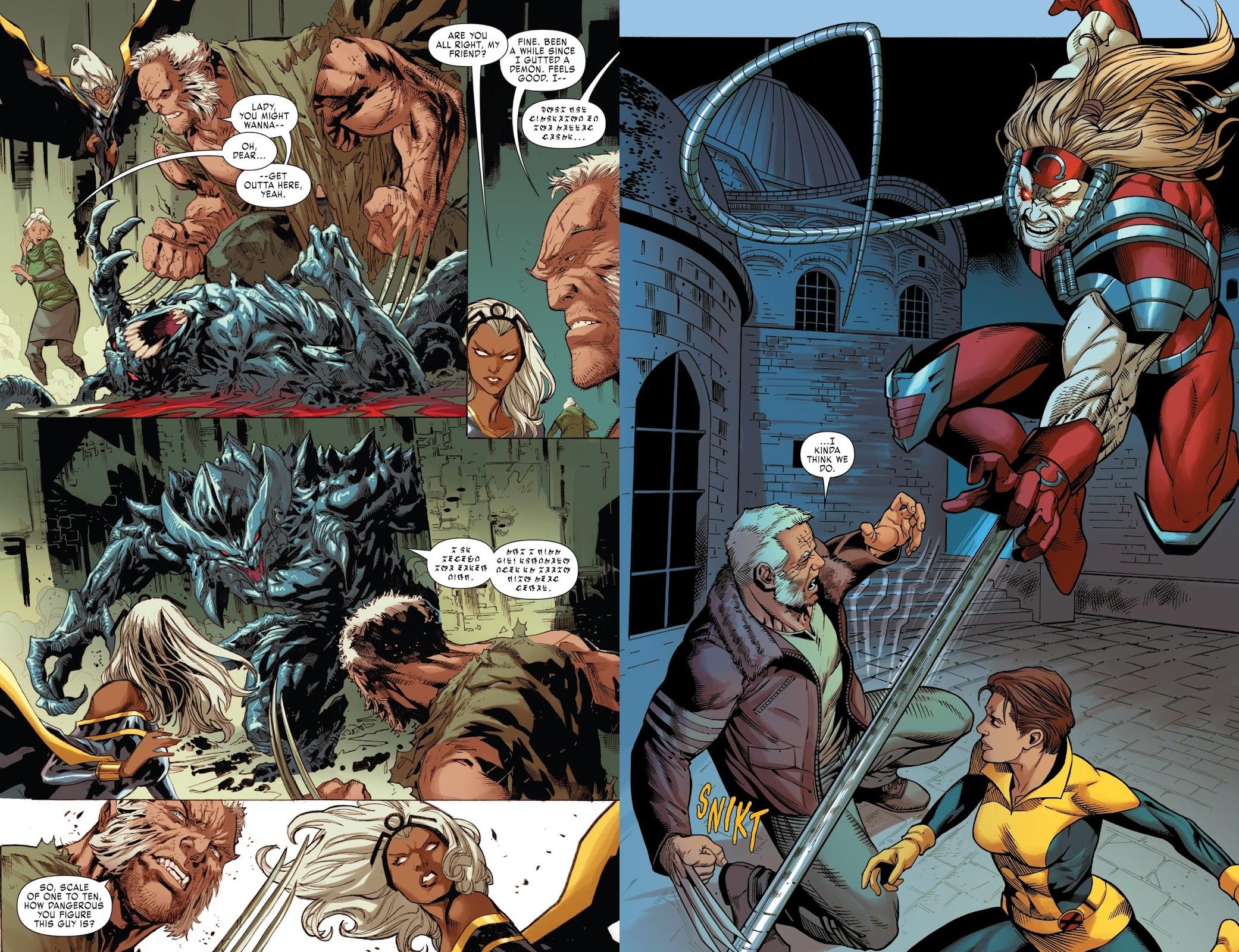 X-Men Gold Evil Empires review
