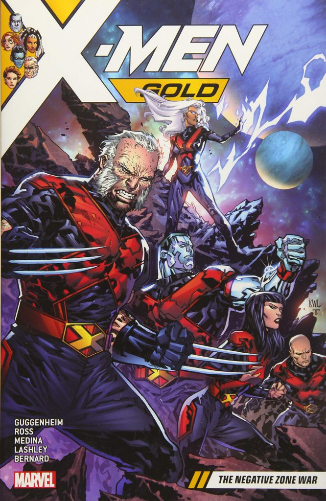 X-Men Gold Volume 4: The Negative Zone War