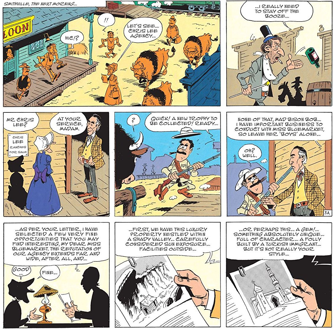 Lucky Luke The Cursed Ranch review