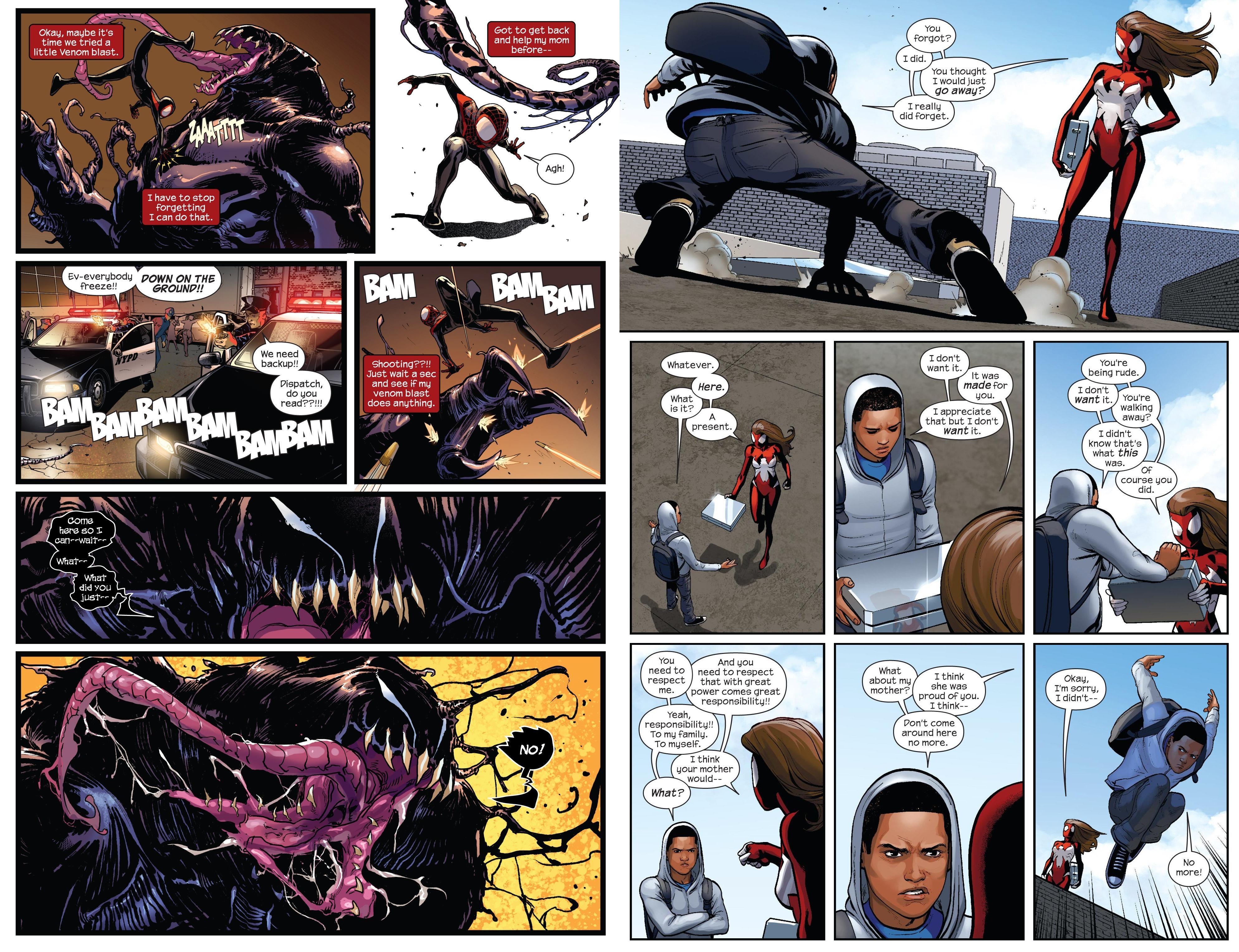 Miles Morales Ultimate Spider-Man Bk2 review
