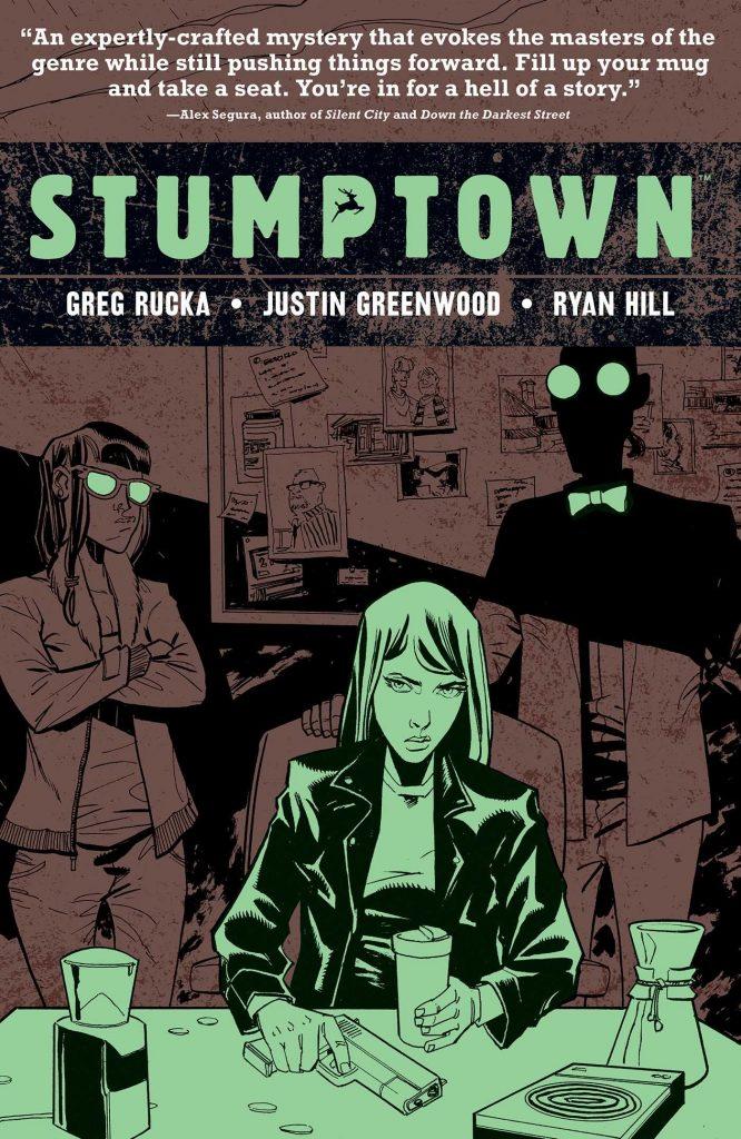 Stumptown Volume 4: The Case of a Cup of Joe