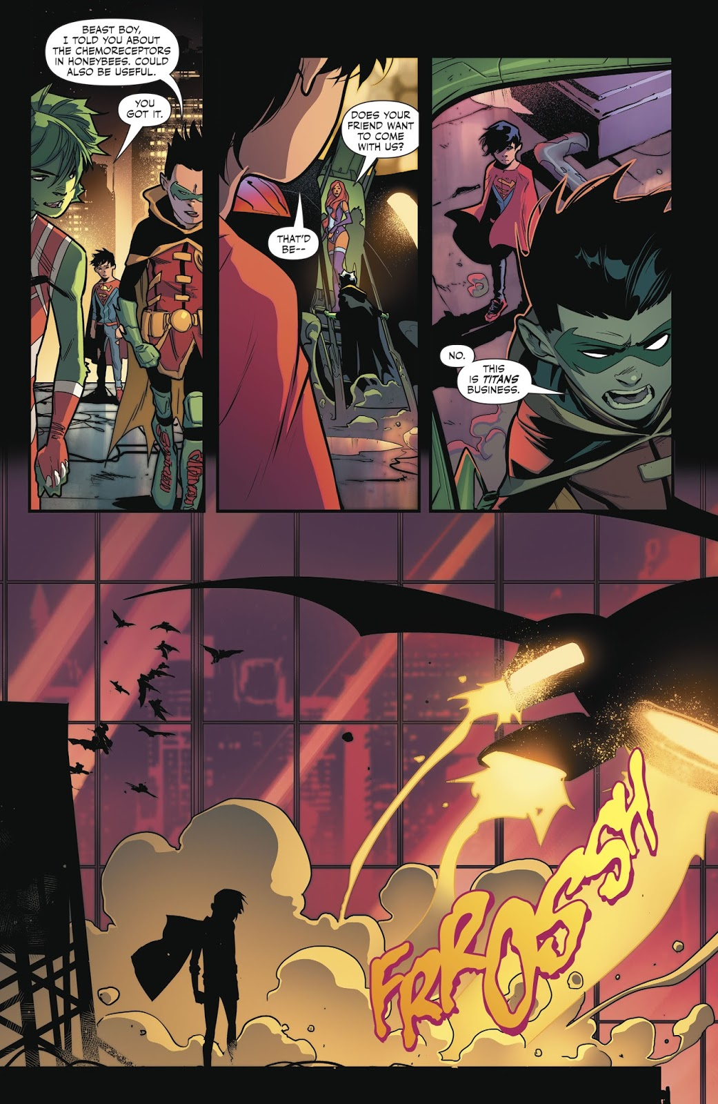 Super Sons v2 Planet of the Capes review