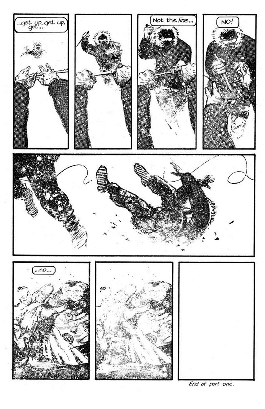 Whiteout graphic novel review