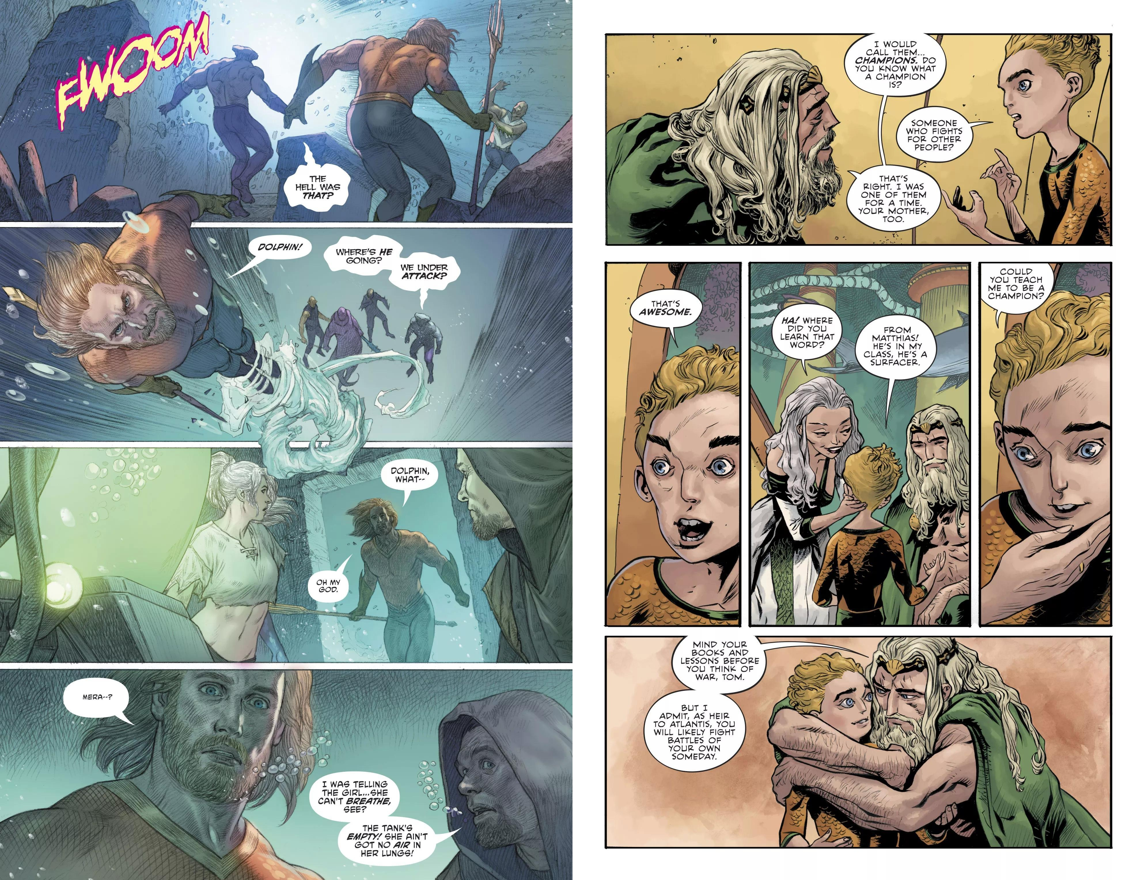 Aquaman V5 The Crown Comes Down review
