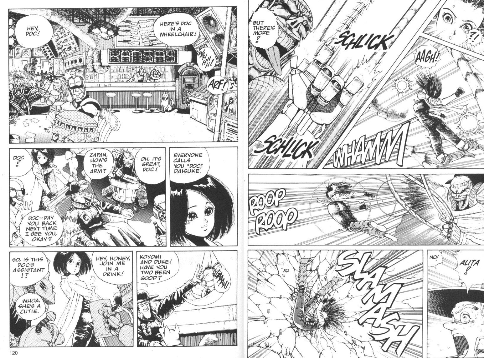 Battle Angel Alita Vol. 1 review