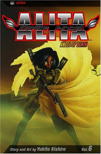 Battle Angel Alita Vol. 6: Angel of Death