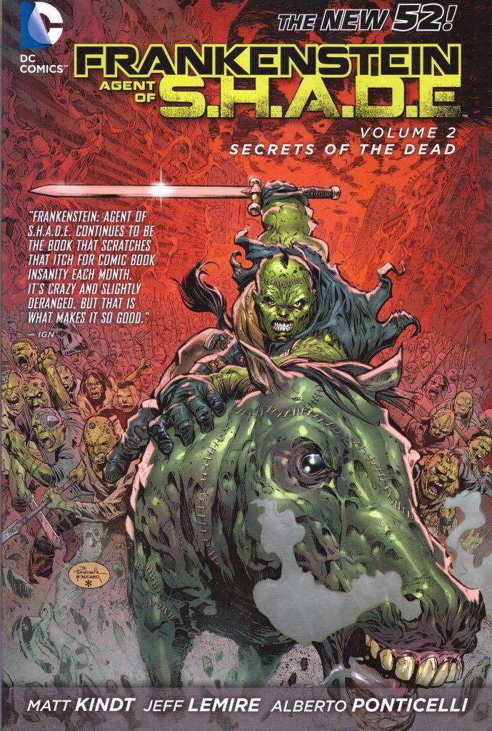 Frankenstein Agent of S.H.A.D.E. Volume 2: Secrets of the Dead