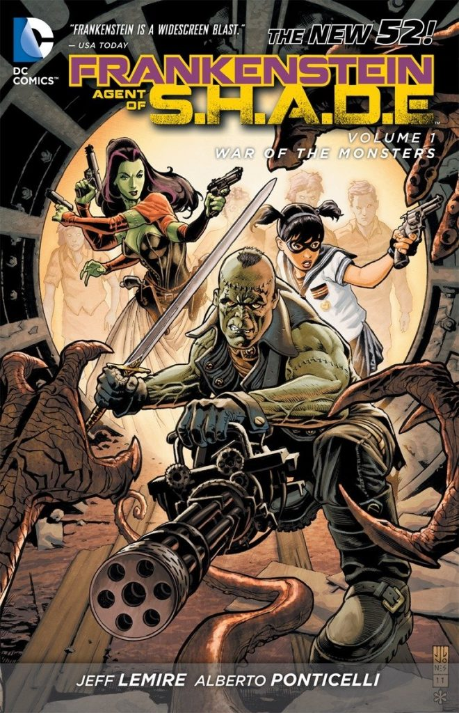 Frankenstein Agent of S.H.A.D.E. Volume 1: War of the Monsters
