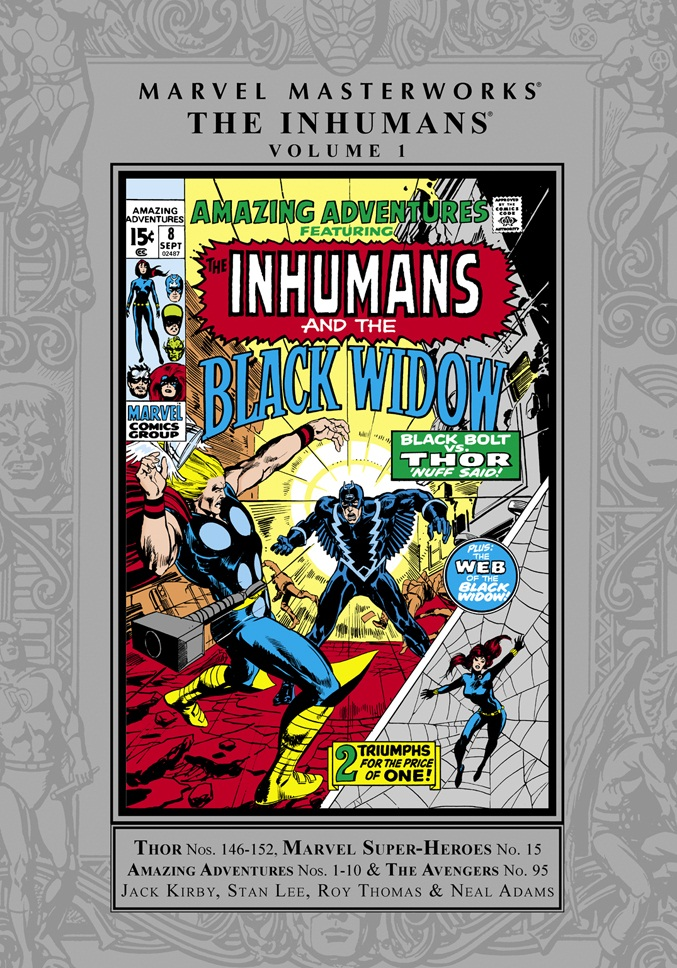 Marvel Masterworks: The Inhumans Volume One