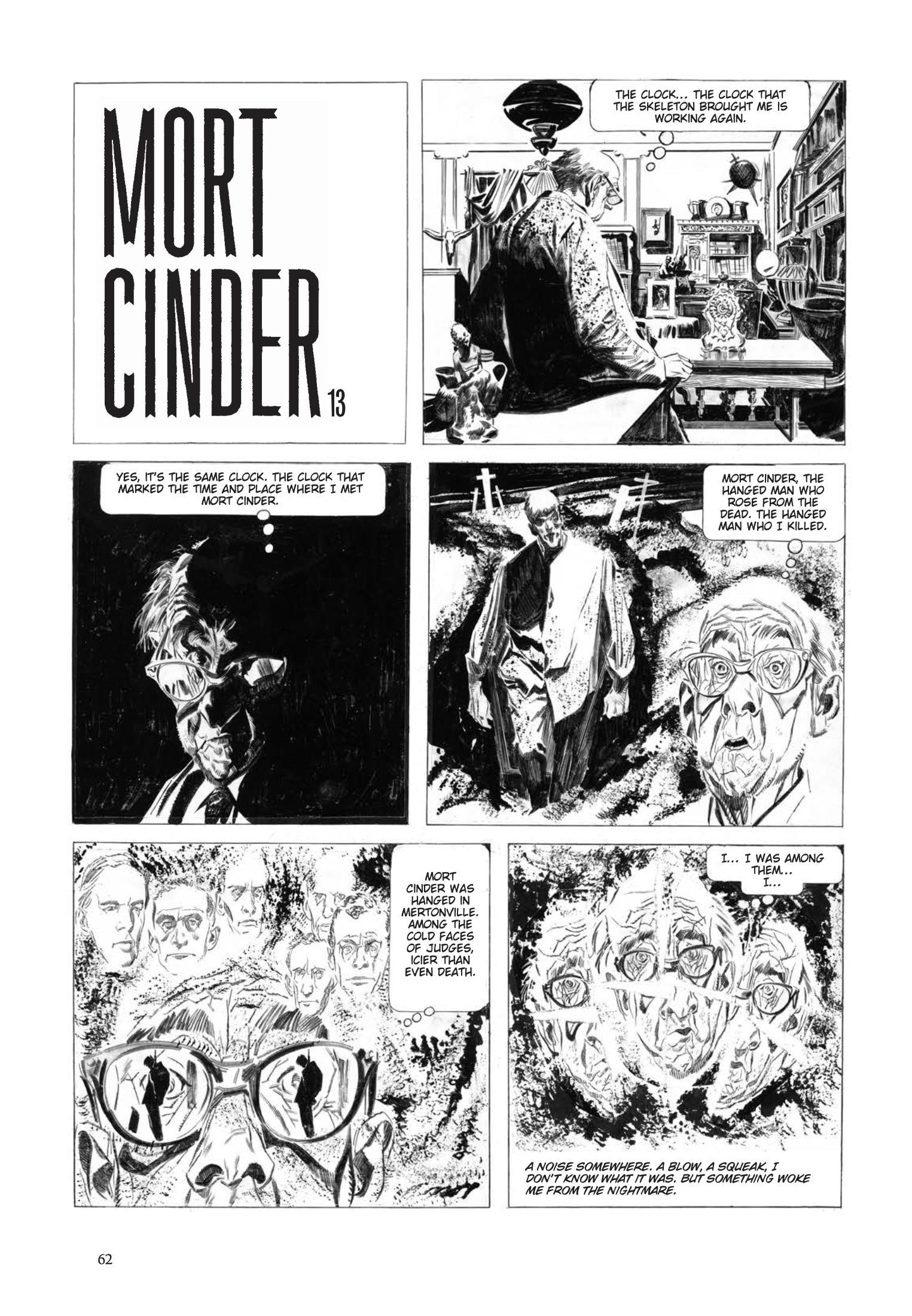 Mort Cinder review