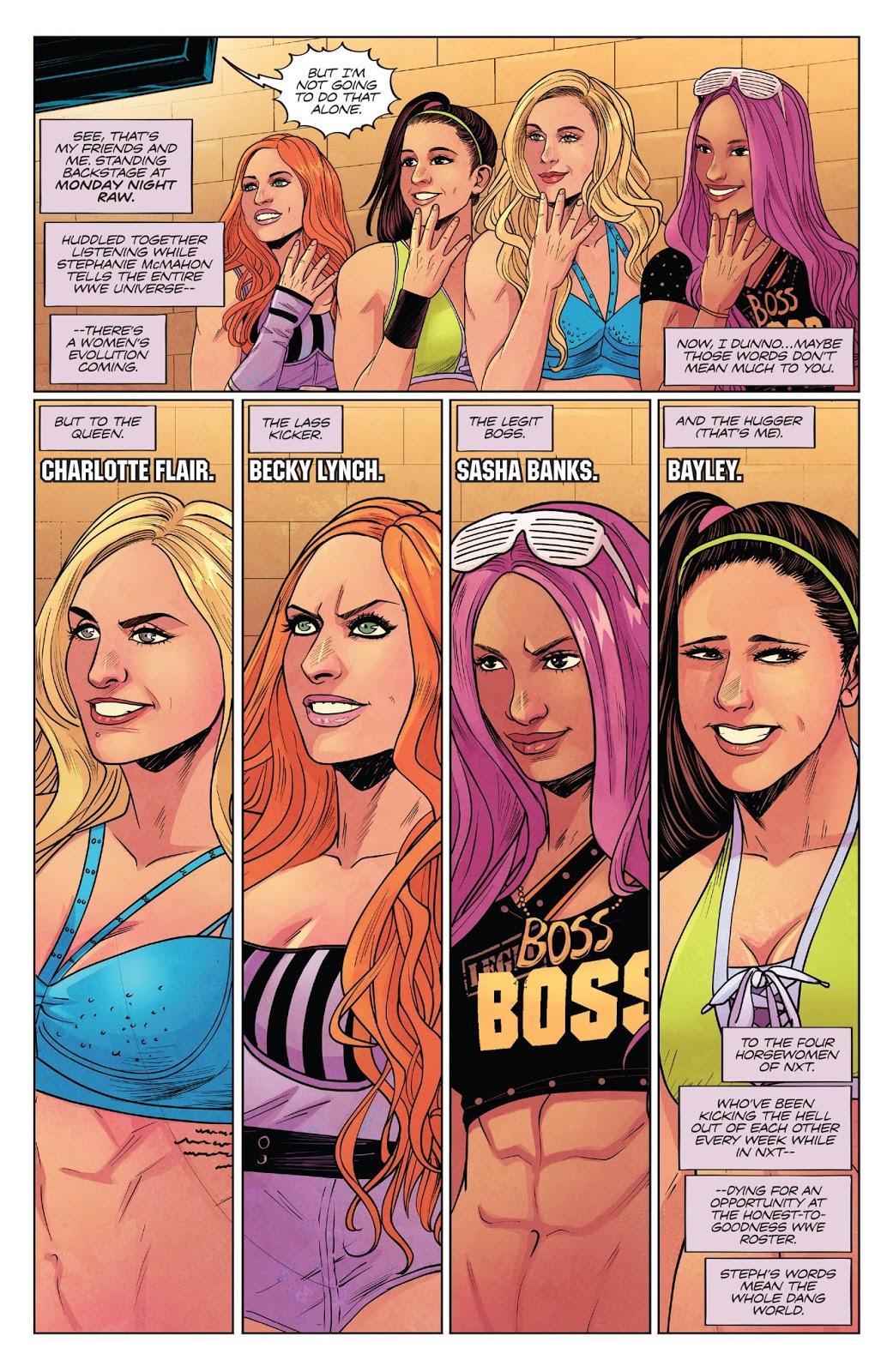 WWE V4 Women's Evolution review