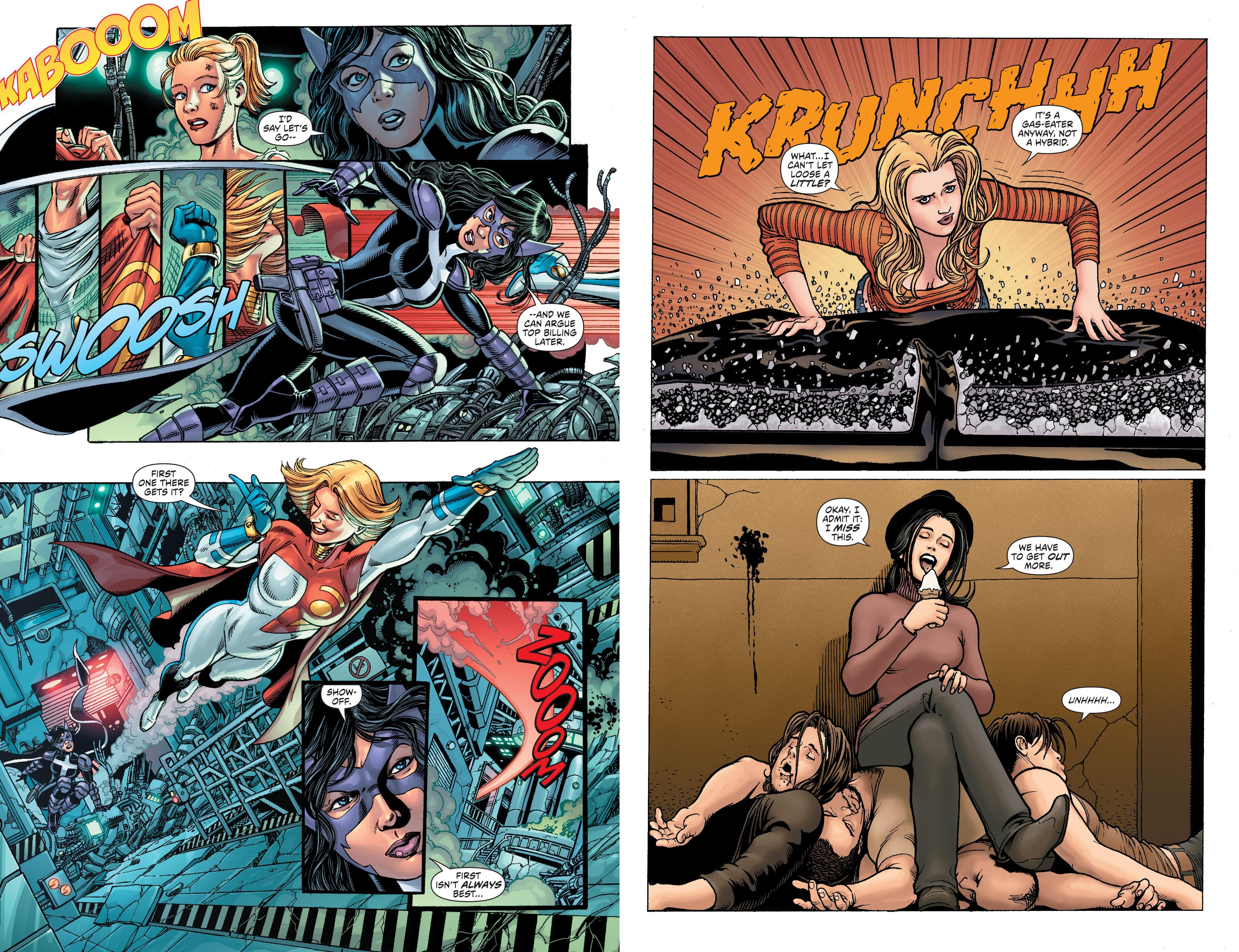 Worlds ' Finest - The Lost Daughters of Earth 2 review