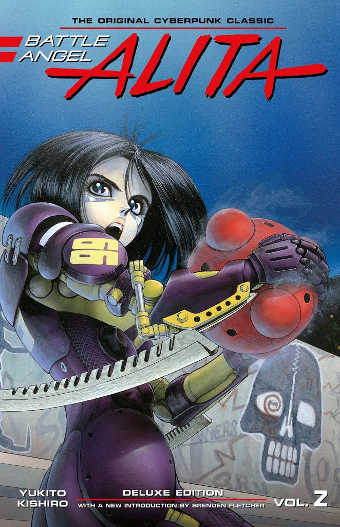 Battle Angel Alita Deluxe Edition Vol. 2