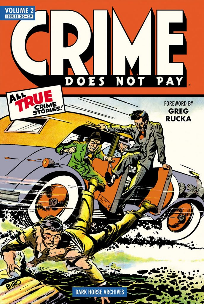 Dark Horse Archives: Crime Does Not Pay Vol. 2