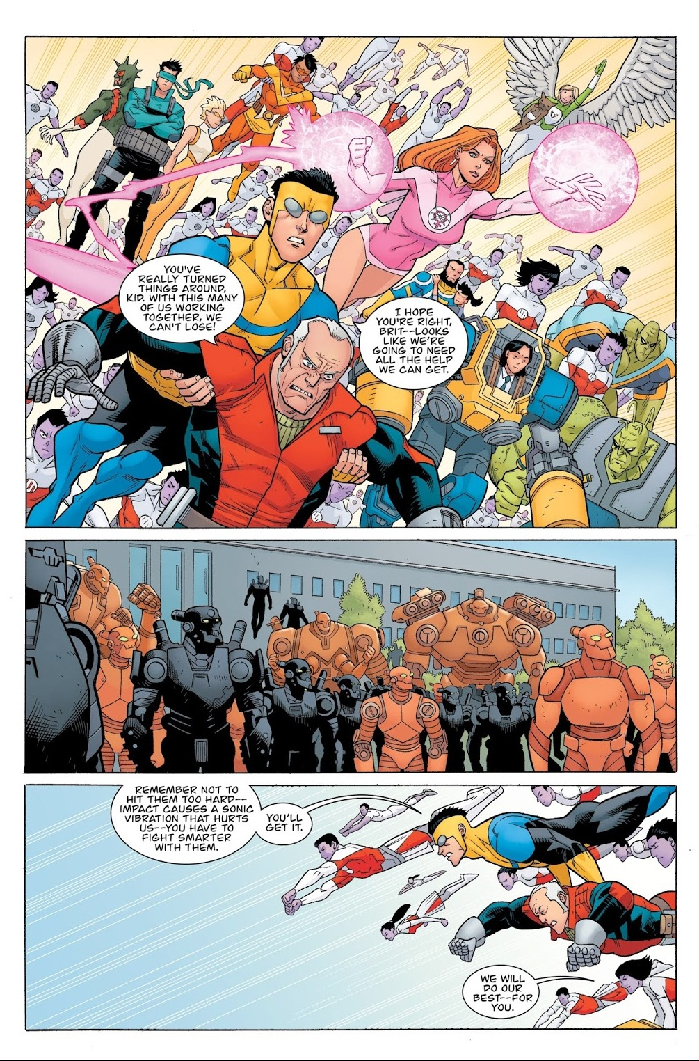 Invincible 25 The End of All Things v2 review