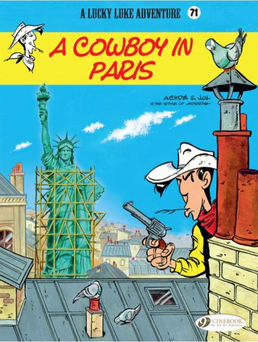 Lucky Luke: A Cowboy in Paris