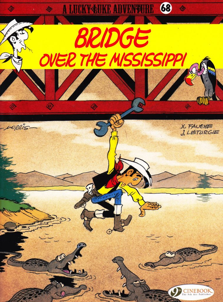 Lucky Luke: Bridge Over The Mississippi
