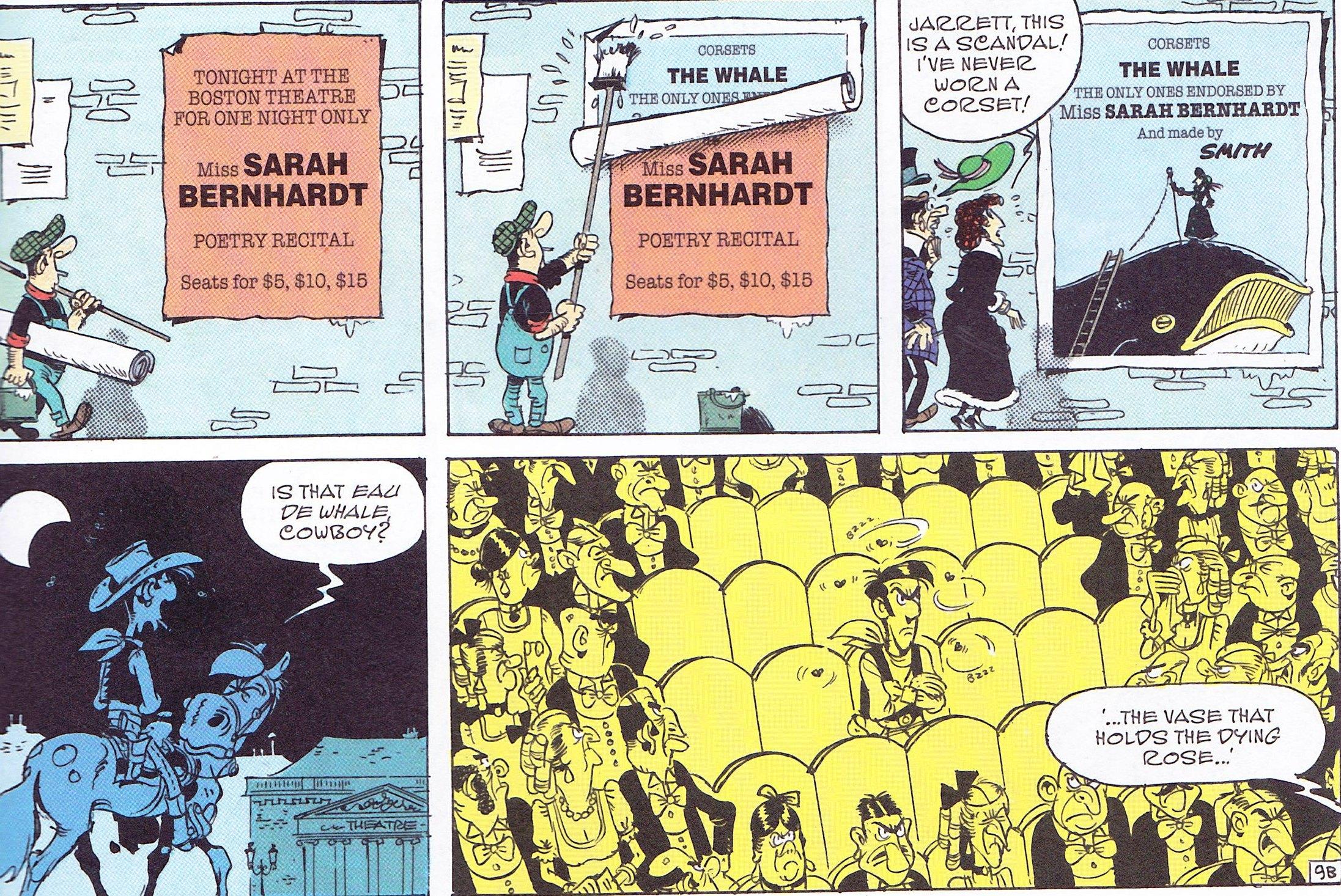 Lucky Luke Sarah Bernhardt Review