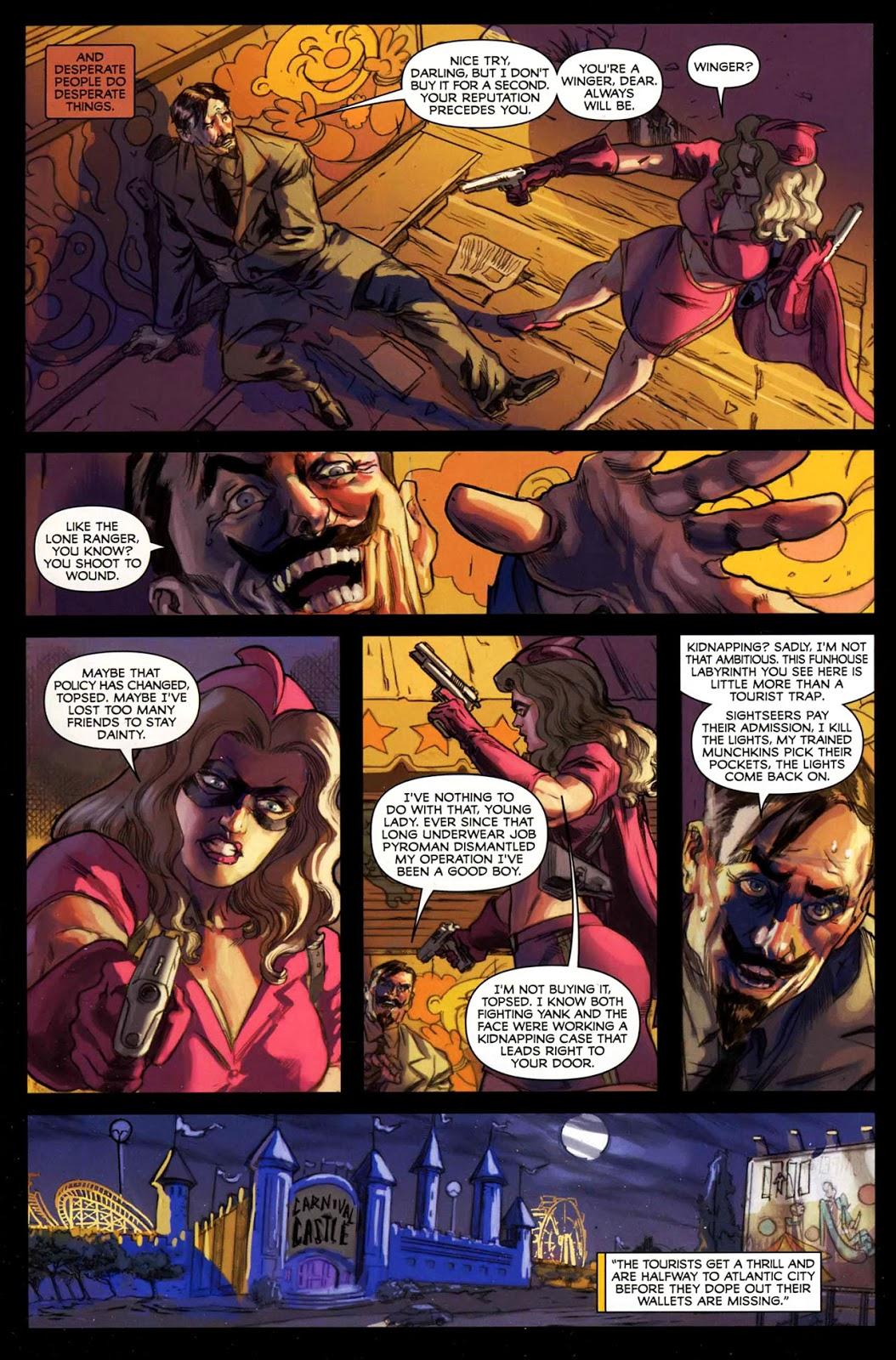 Masquerade graphic novel review