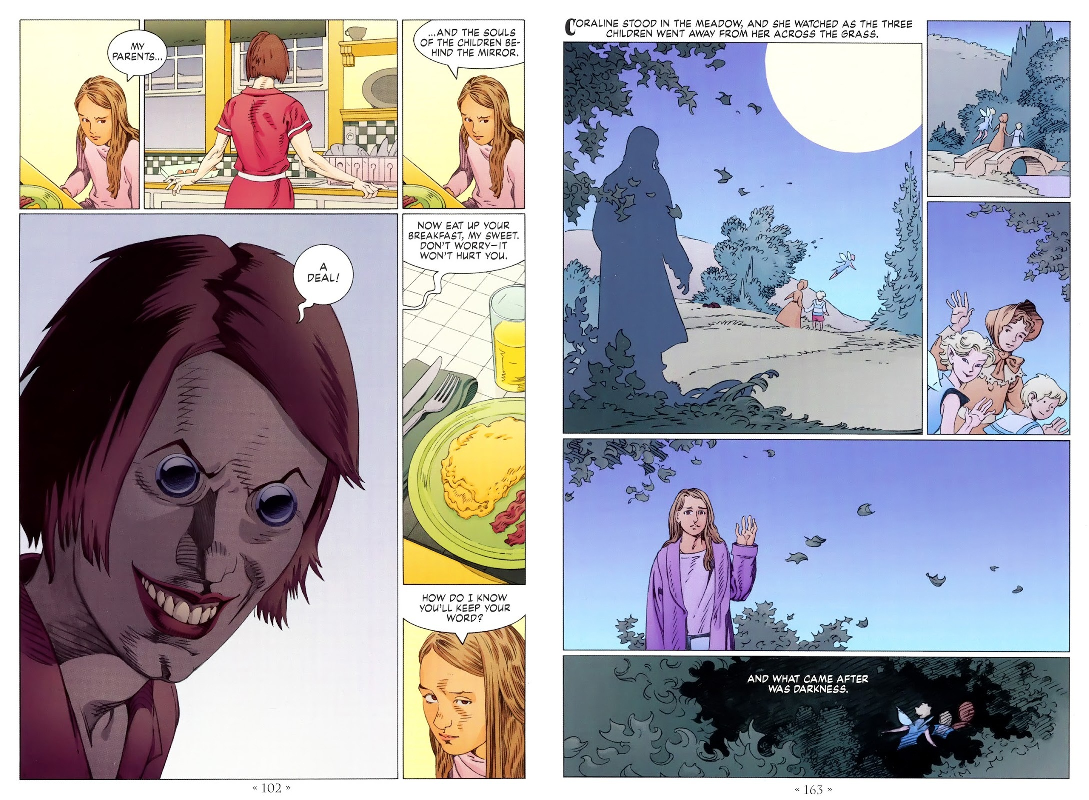 Coraline the graphic novel review