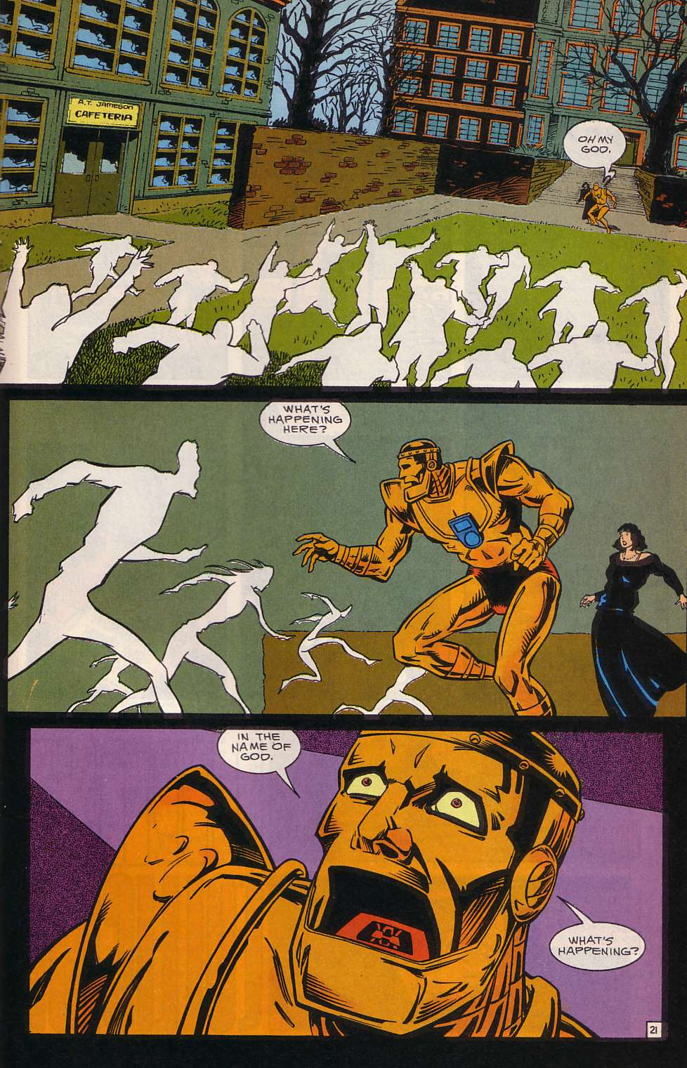 Doom Patrol Crawling From the Wreckage review
