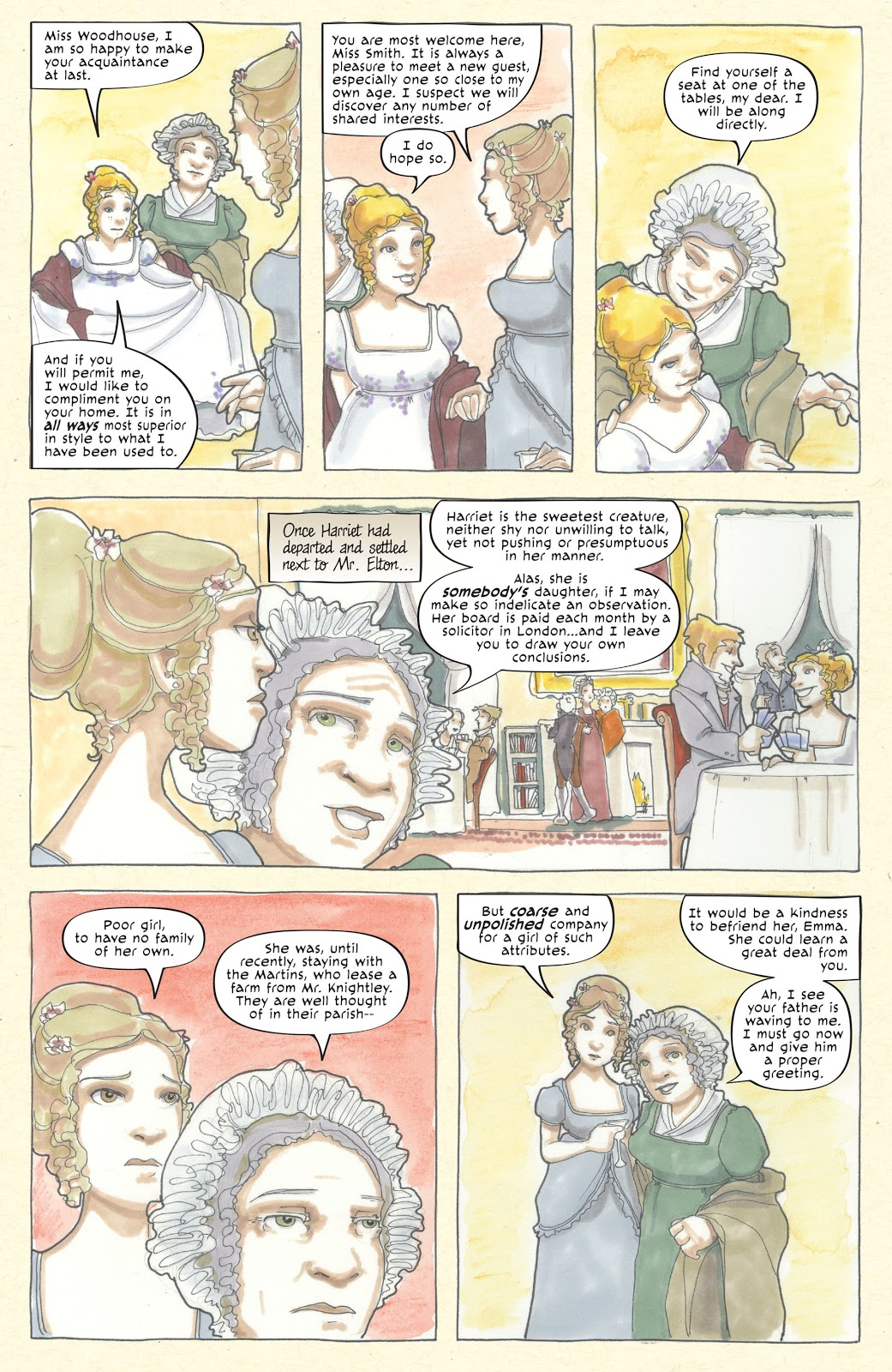 Emma graphic novel review