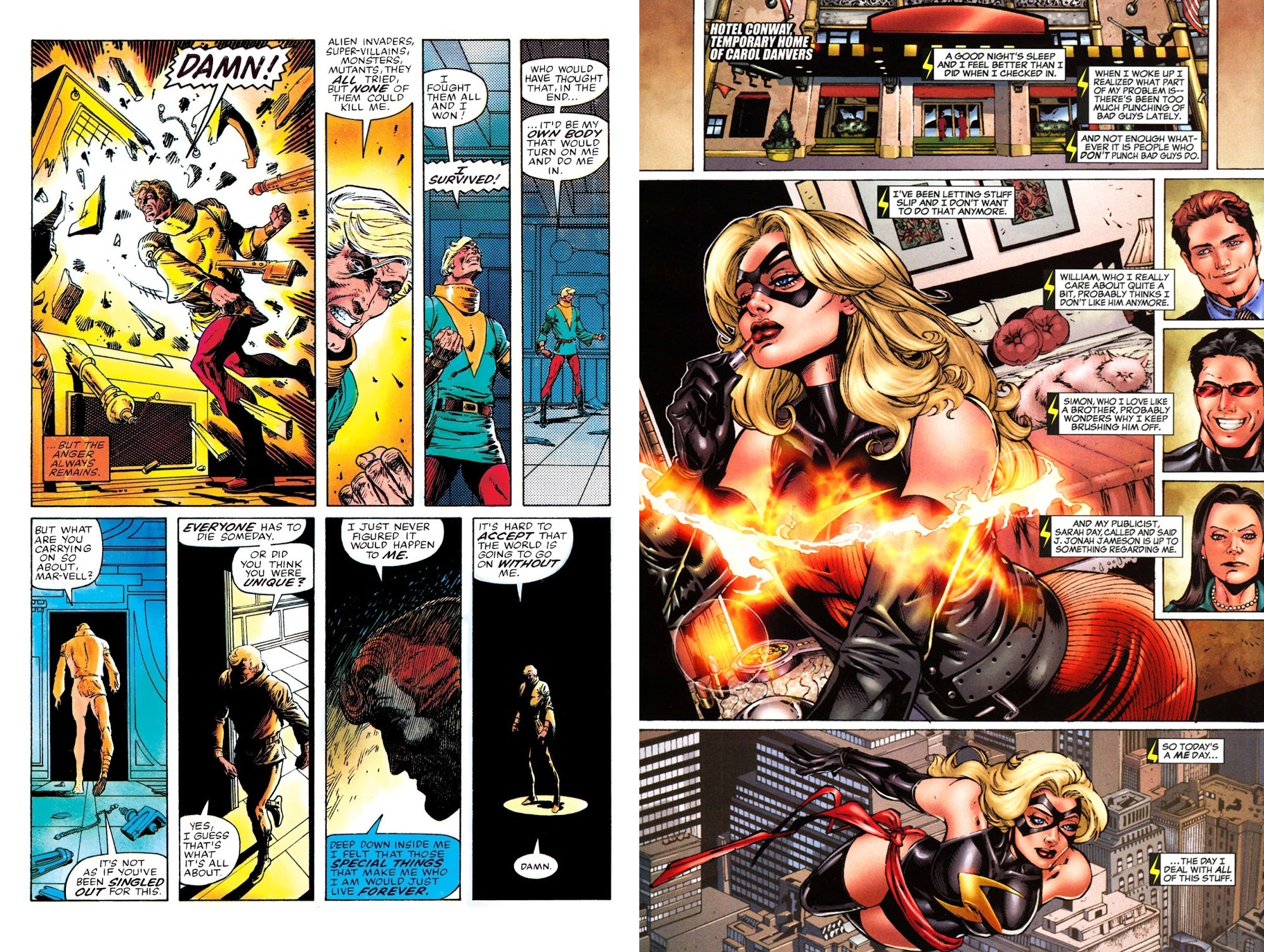 Marvel Platinum The Definitive Captain Marvel review