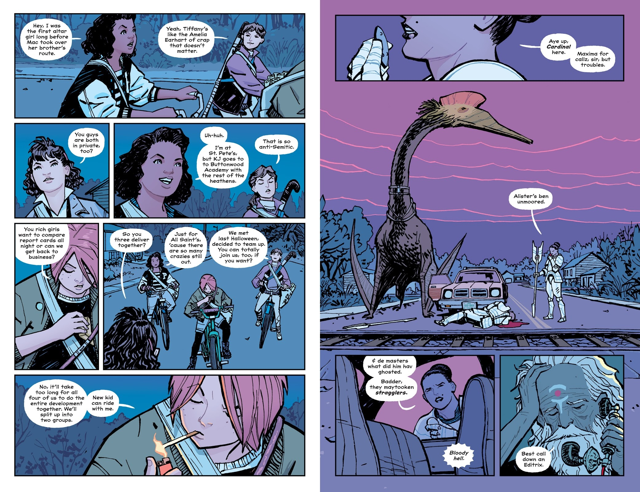 Paper Girls Book One review