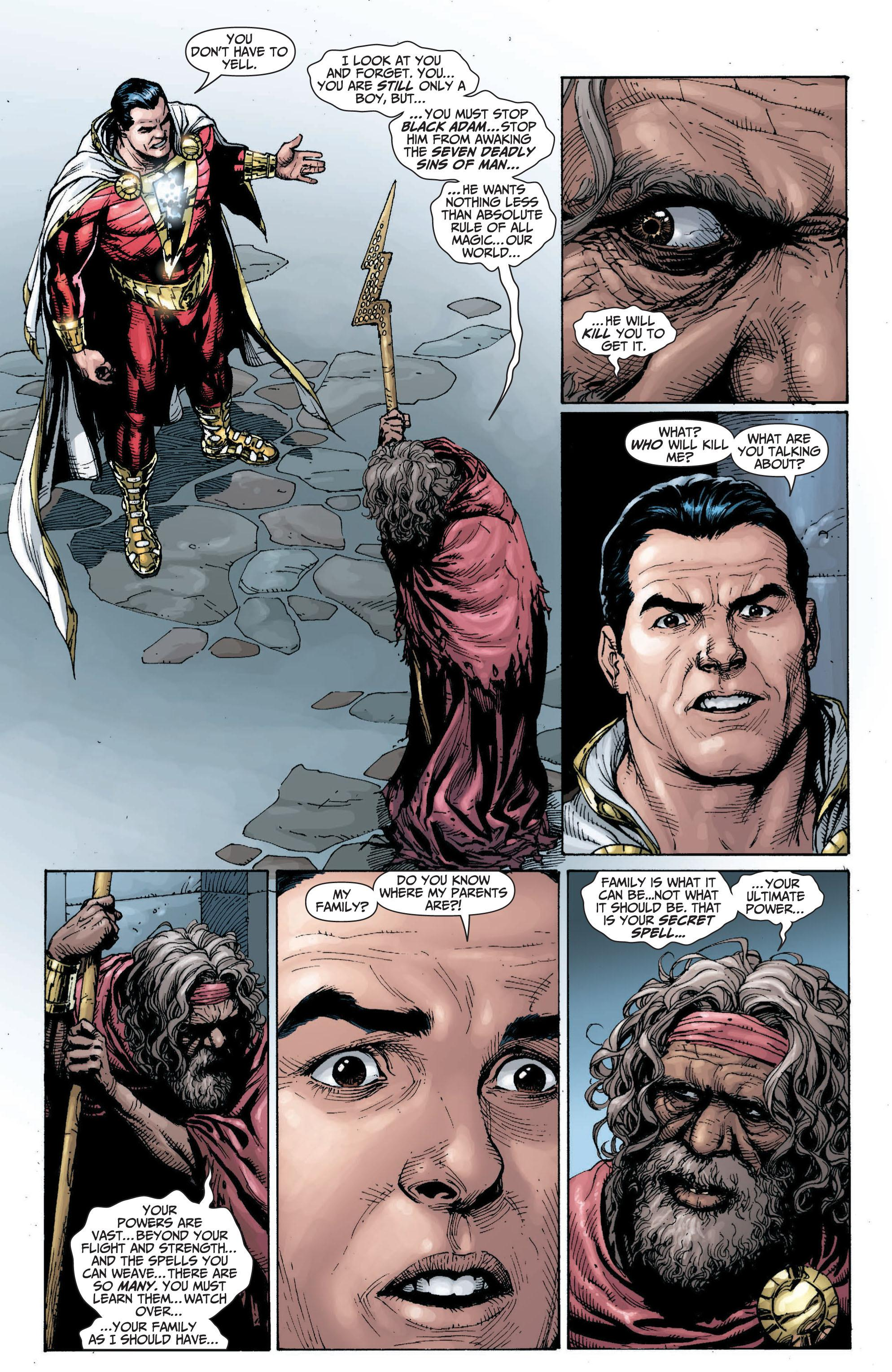Shazam New 52 review