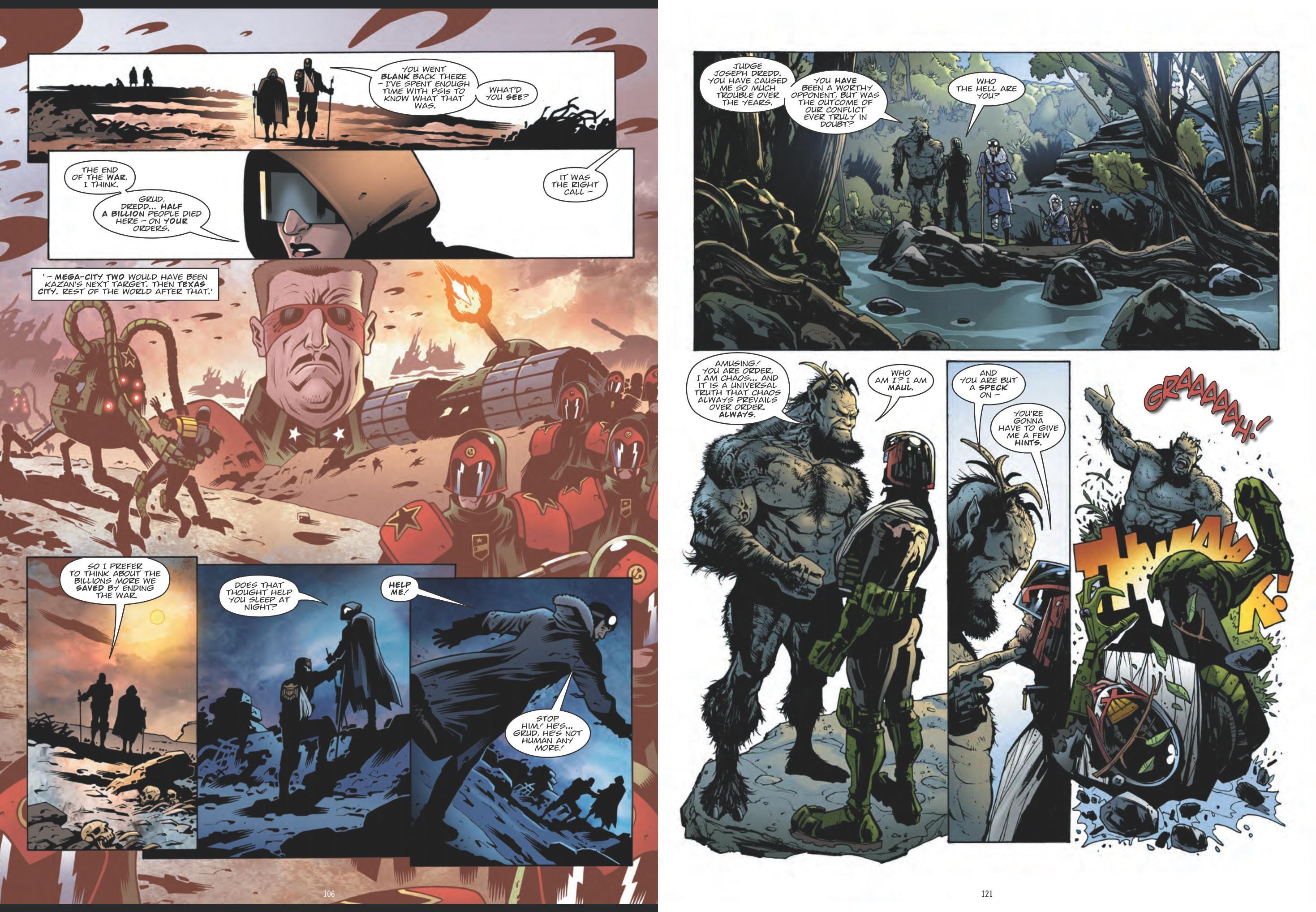 Judge Dredd - Cold Wars review