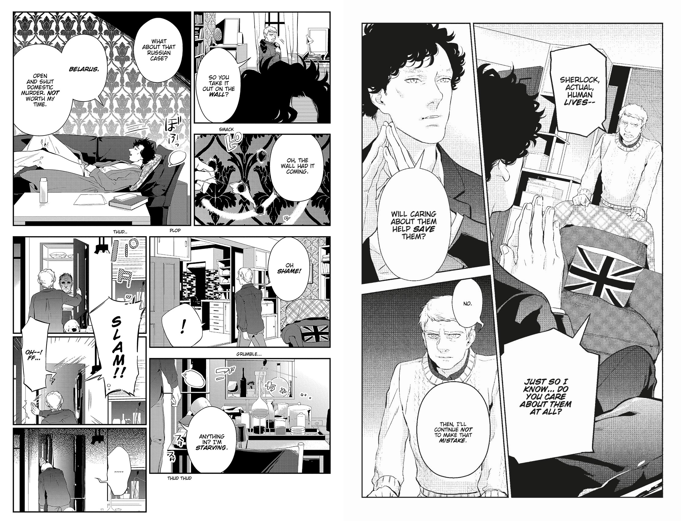 Sherlock The Compete Season One Manga review