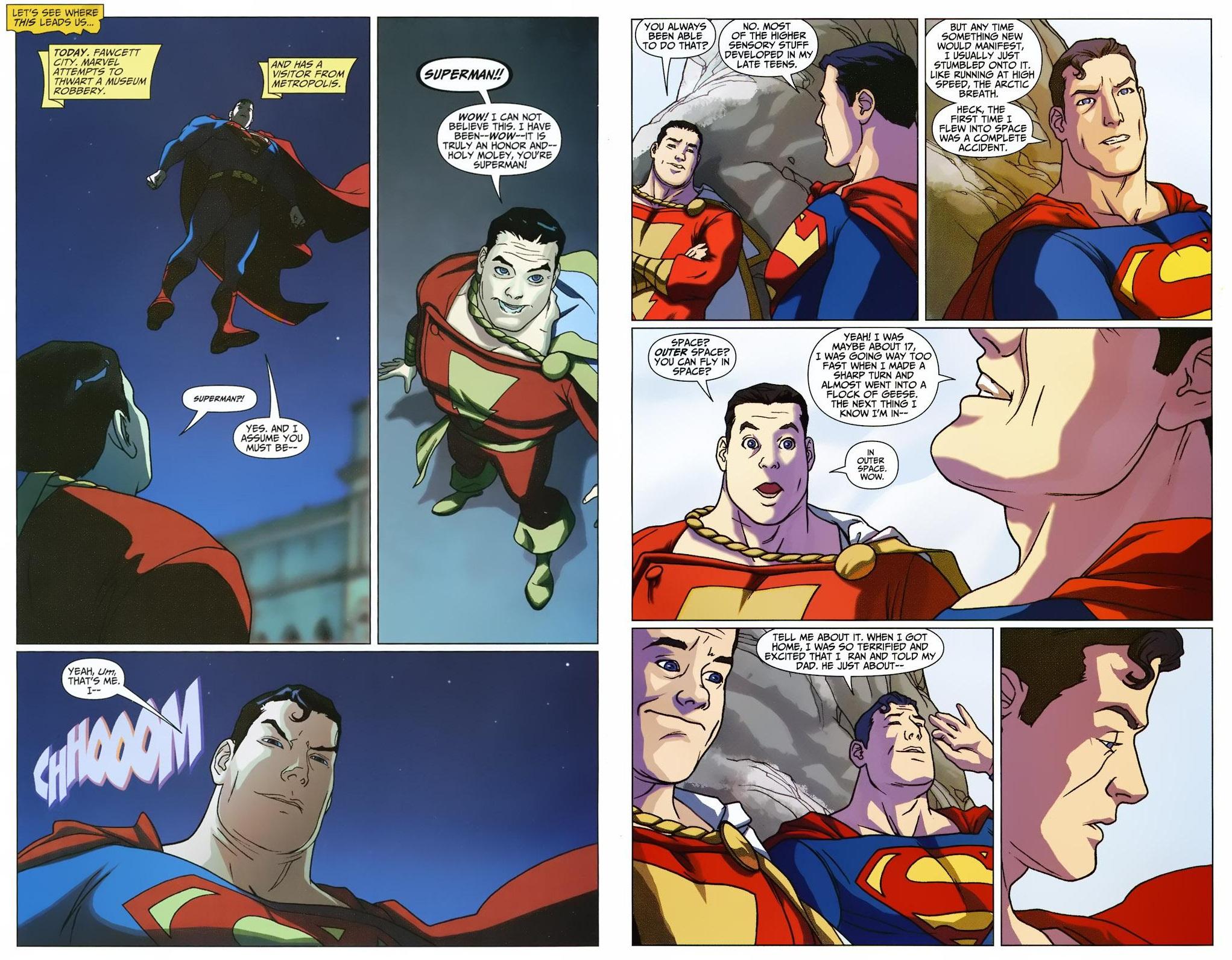 Superman Shazam - First Thunder review