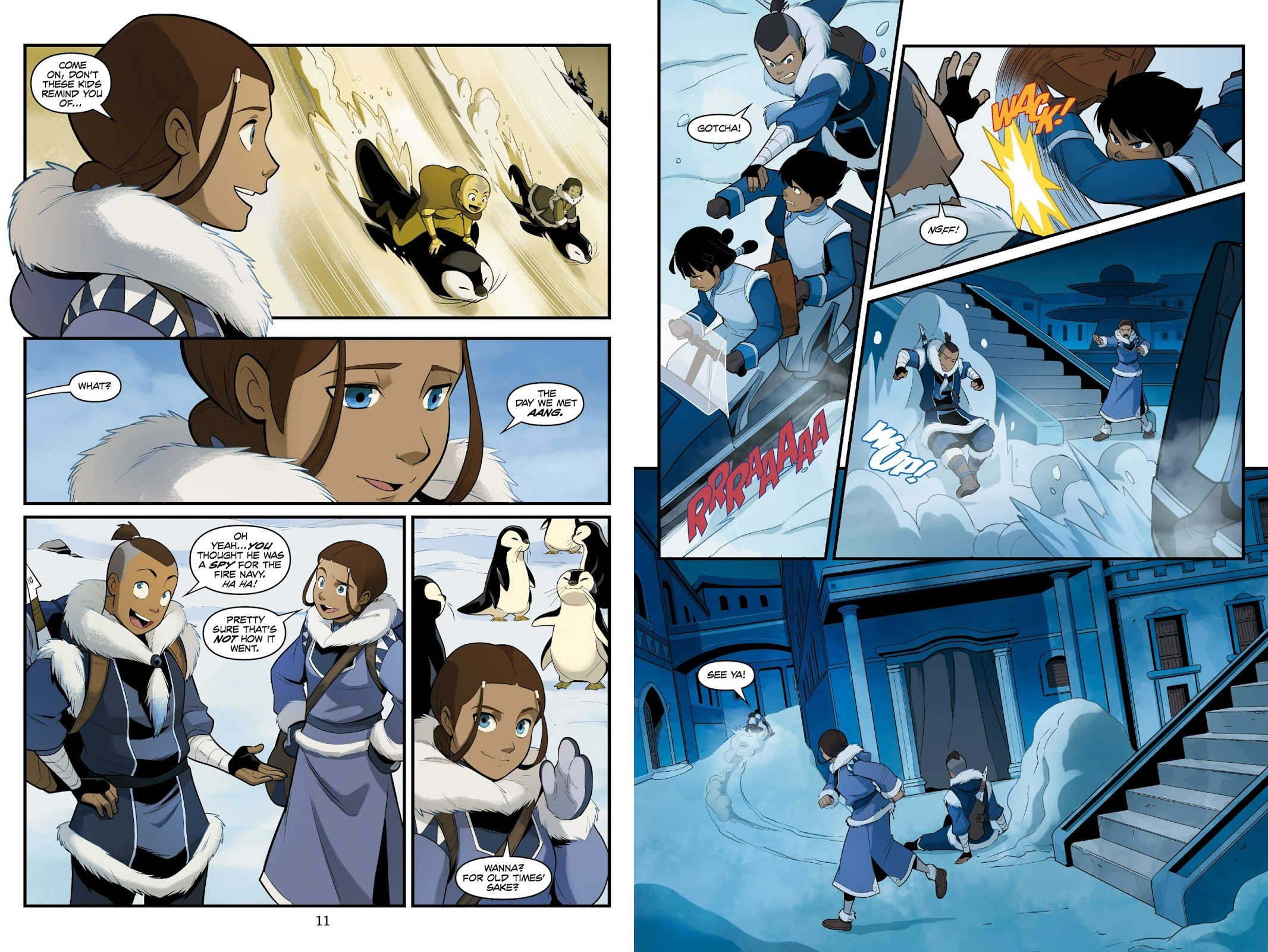 Avatar The Last Airbender North and South V1 review