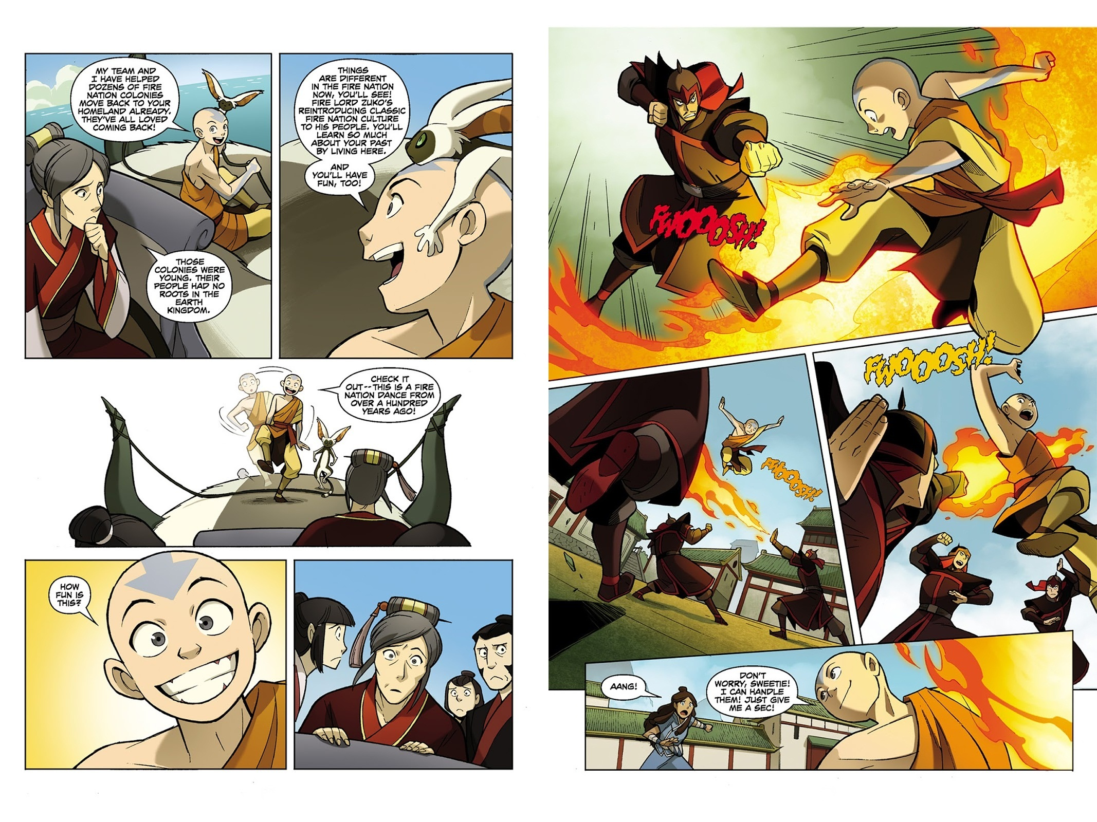Avatar The Last Airbender The Promise V1 review