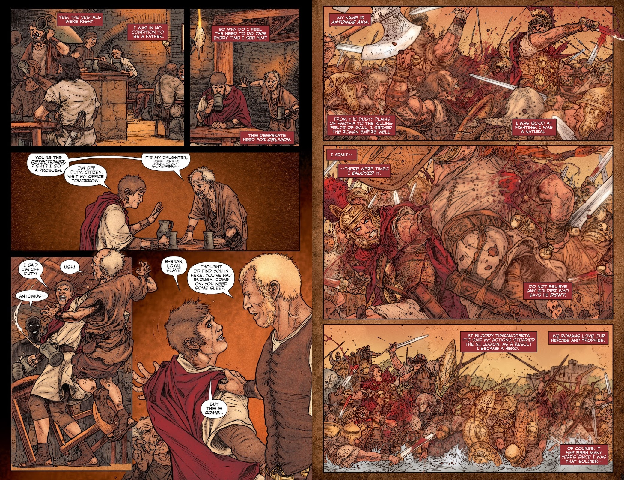 Britannia graphic novel review