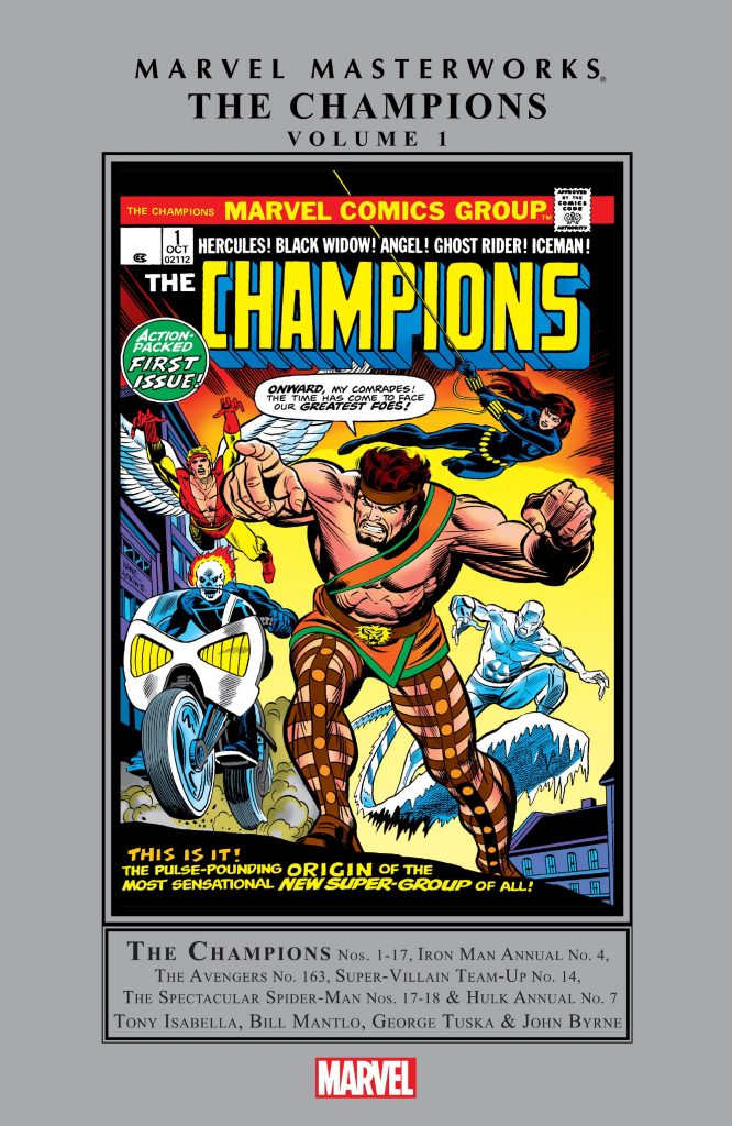 Marvel Masterworks: The Champions Volume 1
