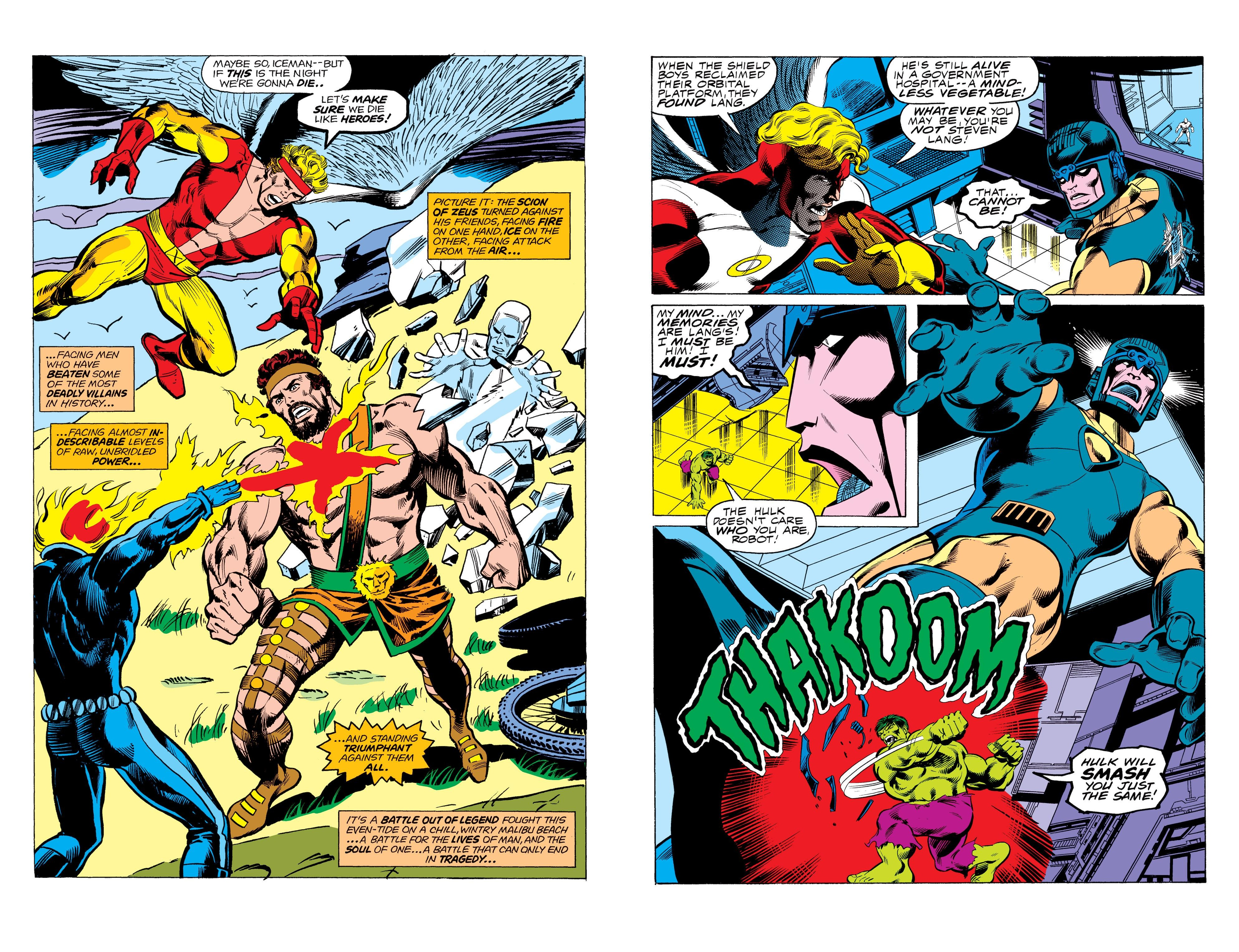 Marvel Masterworks The Champions review
