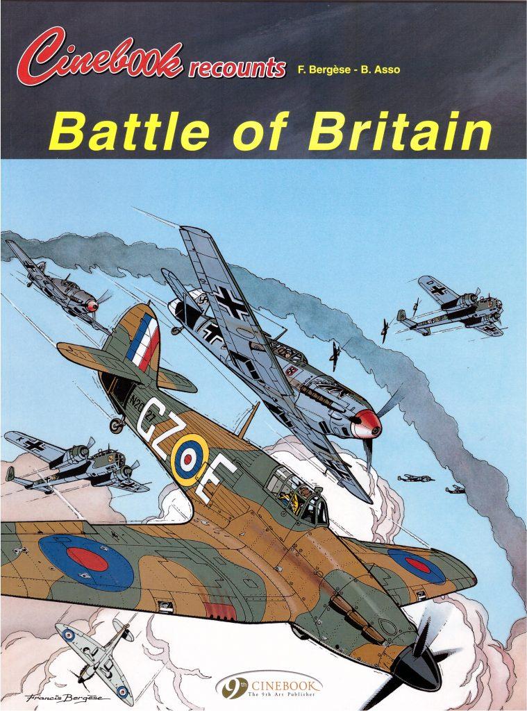 Cinebook Recounts Battle of Britain
