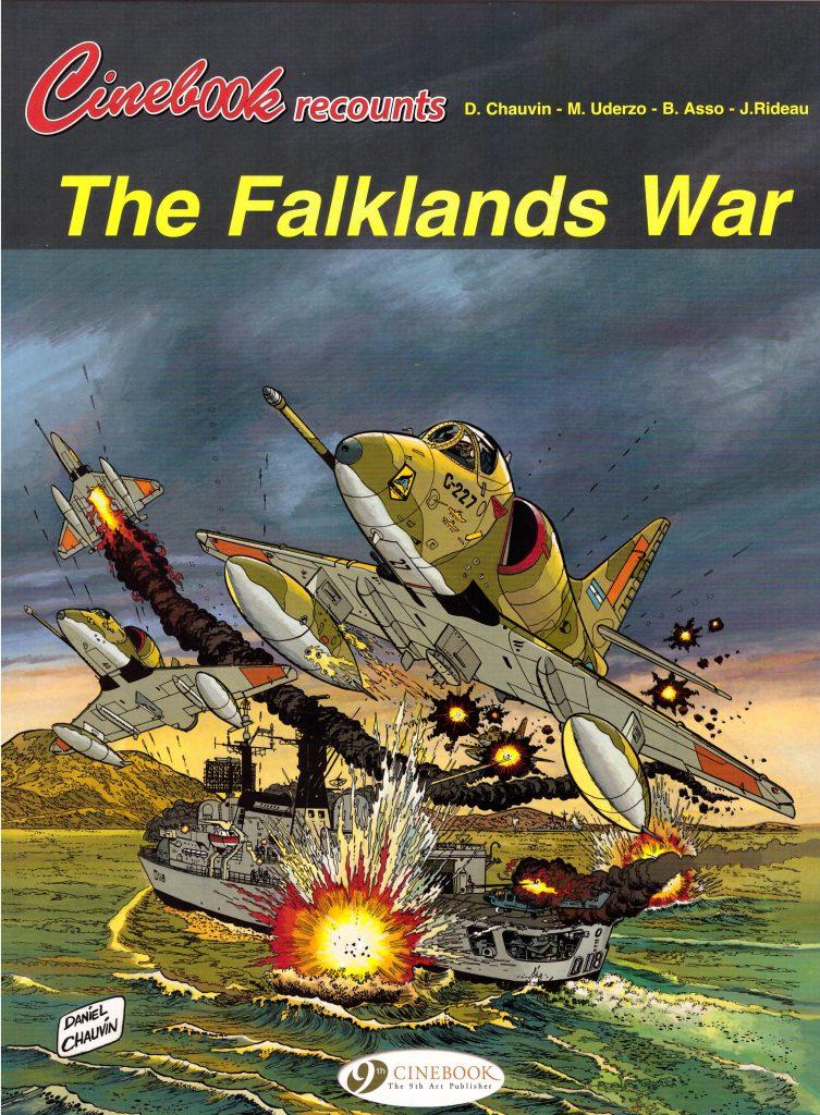 Cinebook Recounts The Falklands War