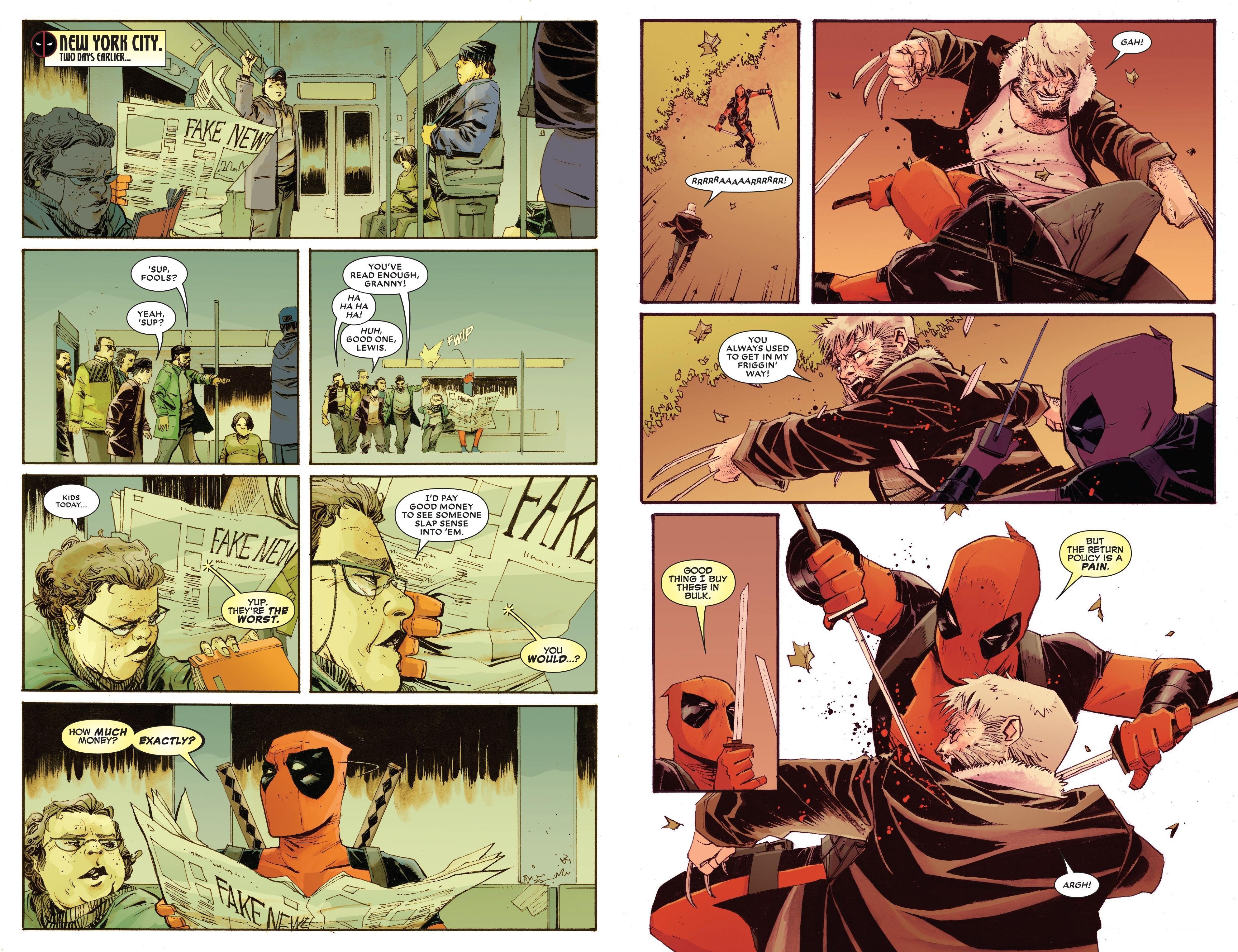 Deadpool vs. Old Man Logan review