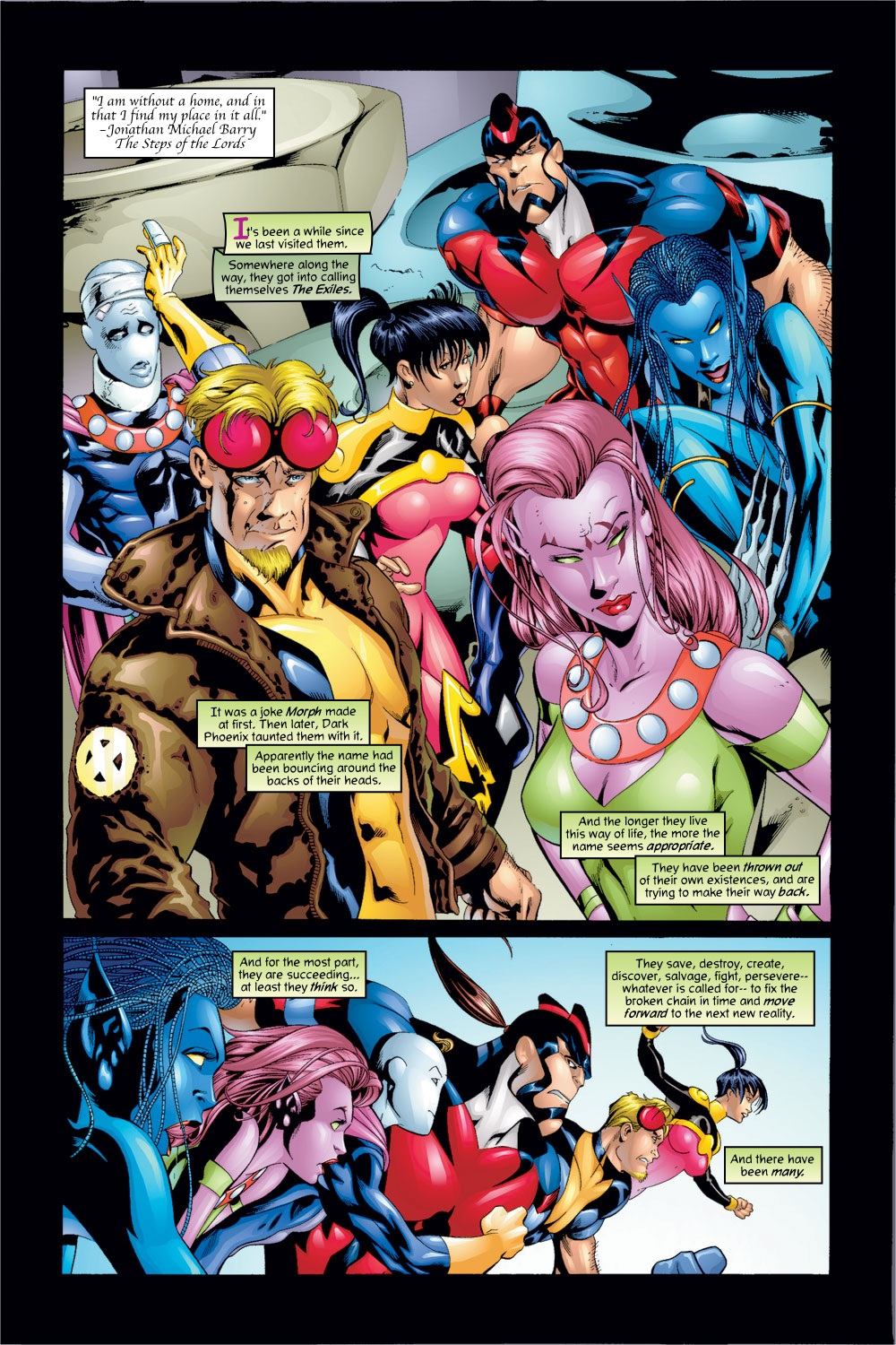 Exiles Ultimate Collection Book 1 review